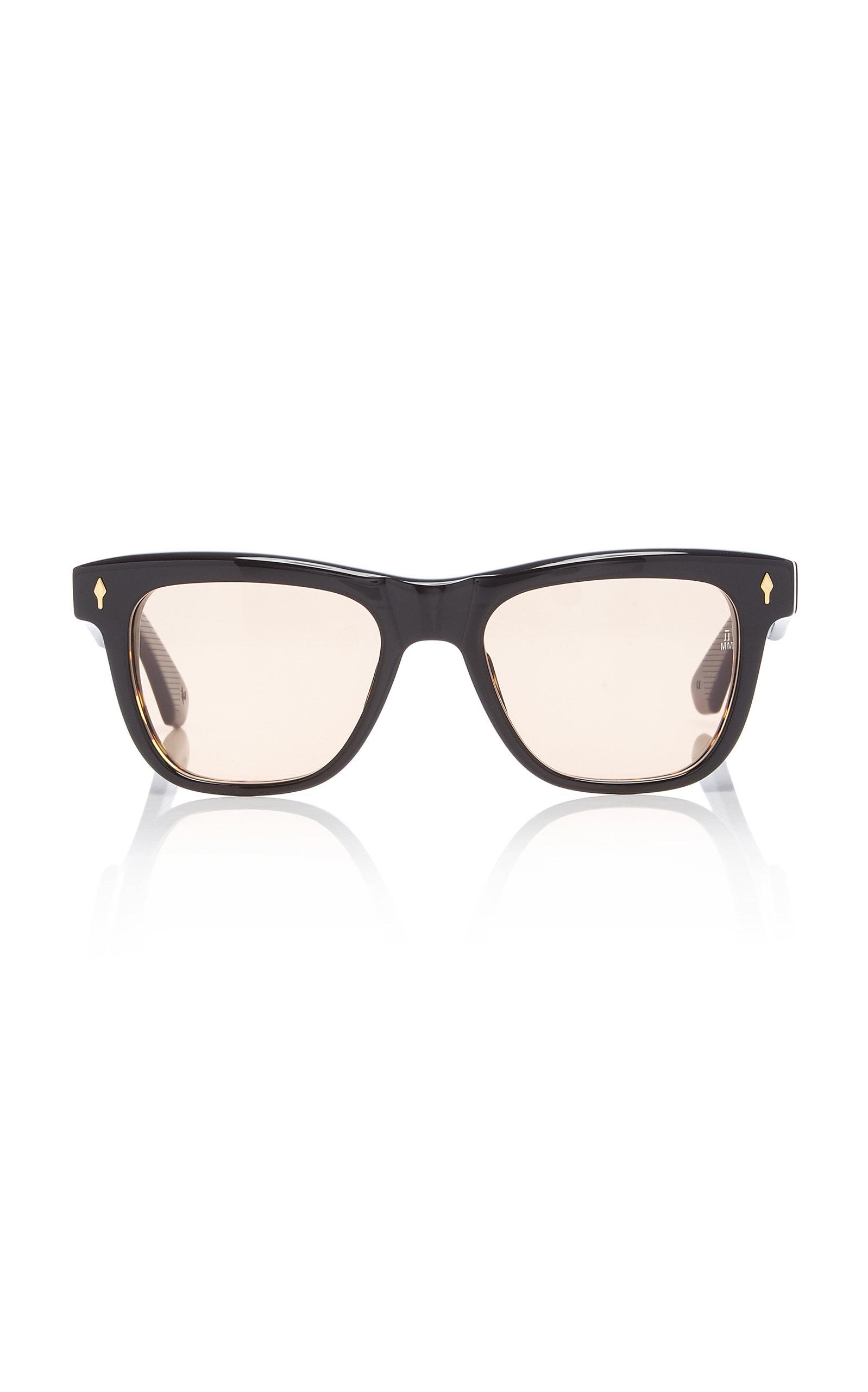 sol con Marie Jacques de en gafas negro Acetate cuadrada Fitzgerald Mage montura qZggx4Y6