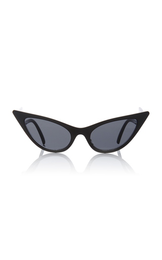 ADAM SELMAN X LE SPECS | Adam Selman X Le Specs The Prowler Acetate Cat-Eye Sunglasses | Goxip