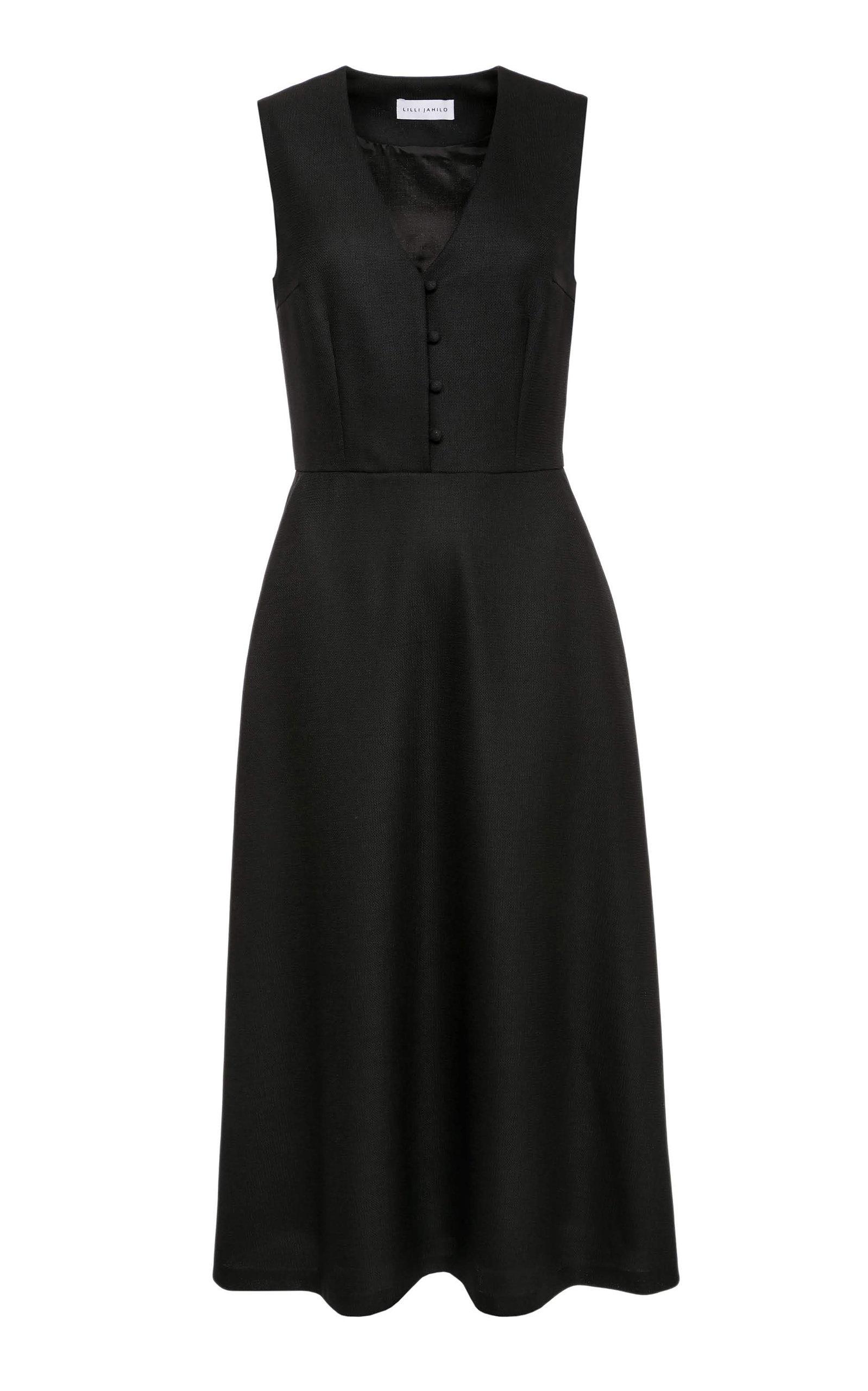 841b8b2bffefb Hedda Wool Vest Dress with Pockets by Lilli Jahilo | Moda Operandi