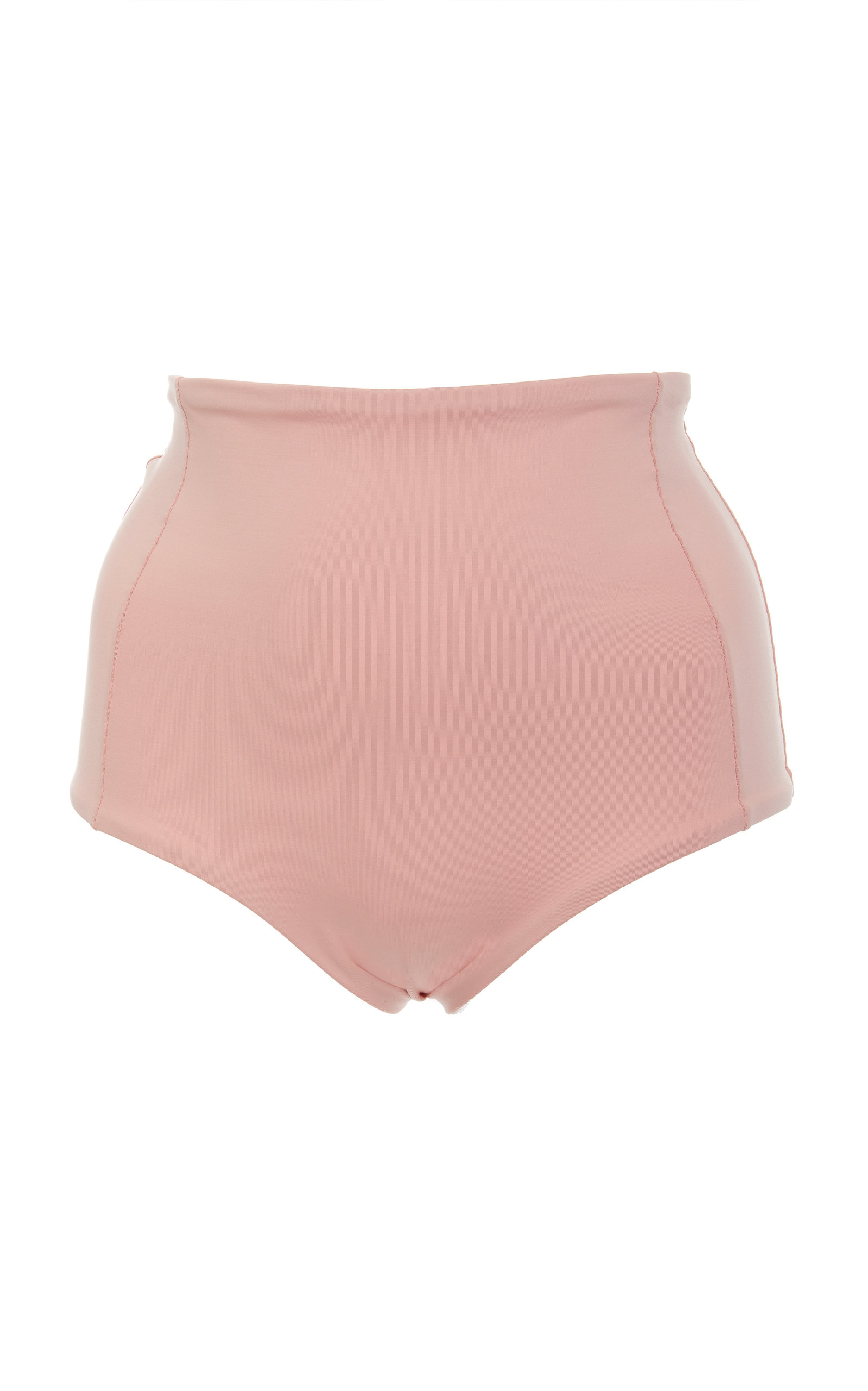 VERDE LIMON Banes High Waisted Bikini Bottoms in Pink