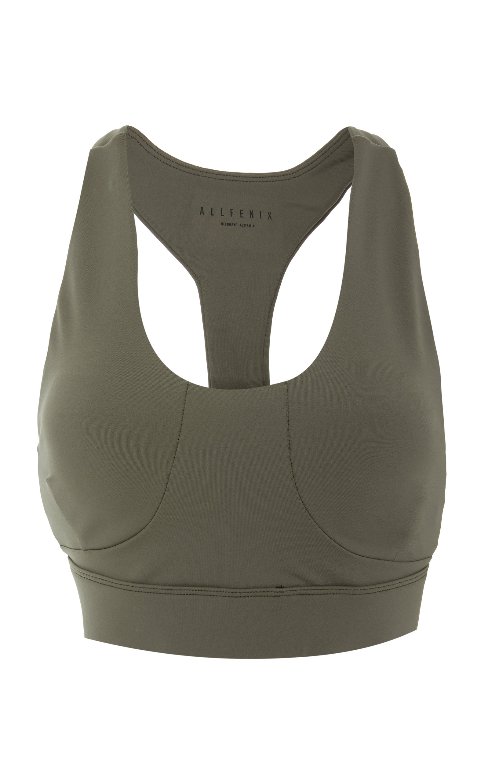 ALL FENIX Selene Sports Bra in Green