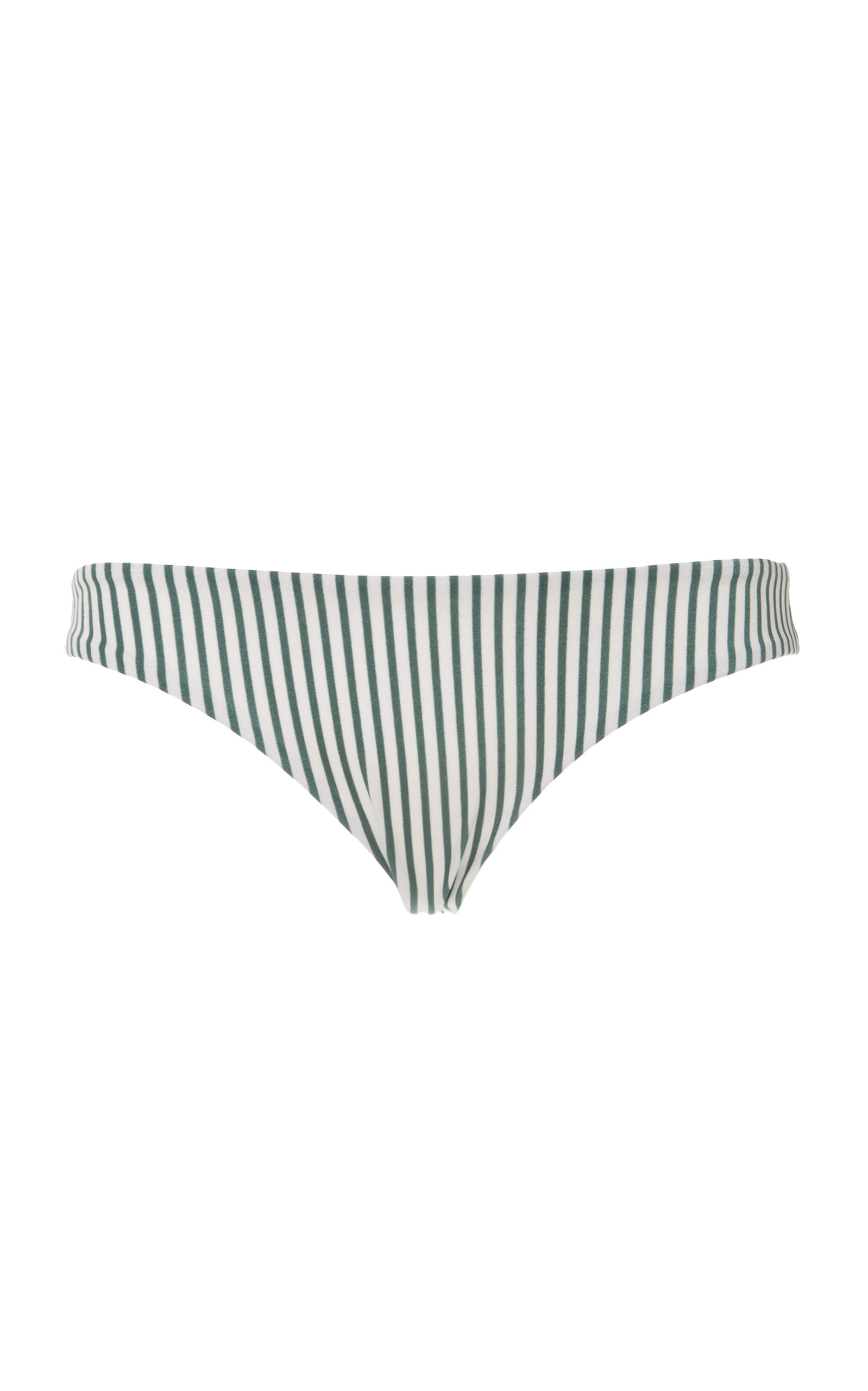 TORI PRAVER Mimi Ruched Cheeky Bottom in Green