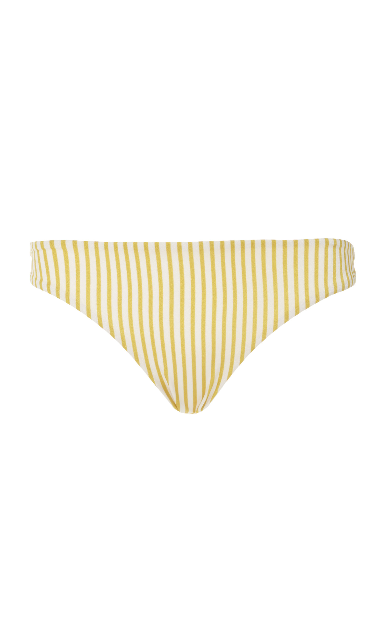 TORI PRAVER Mimi Ruched Cheeky Bottom in Yellow