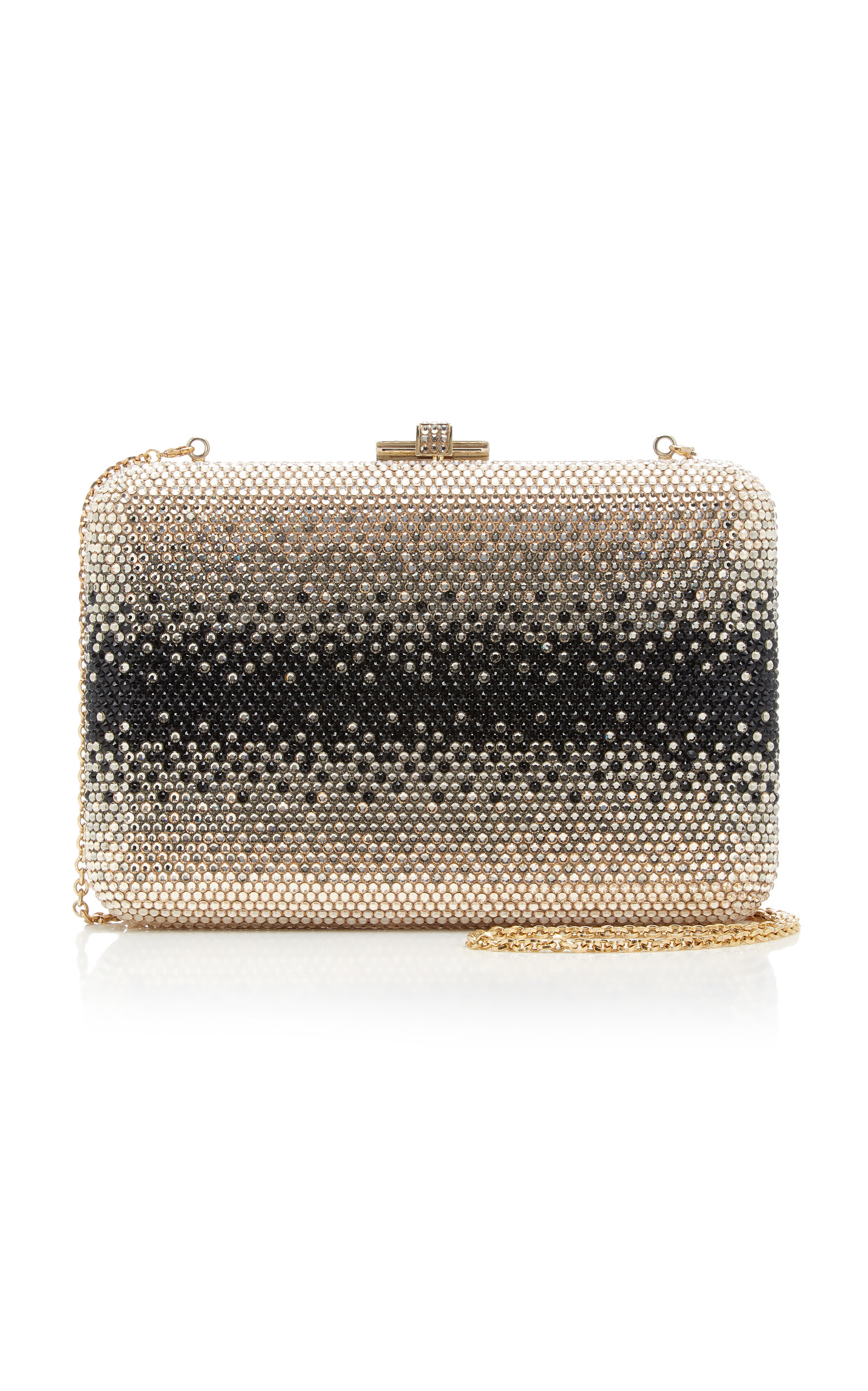 Judith Leiber Clutch CRYSTAL-EMBELLISHED CLUTCH