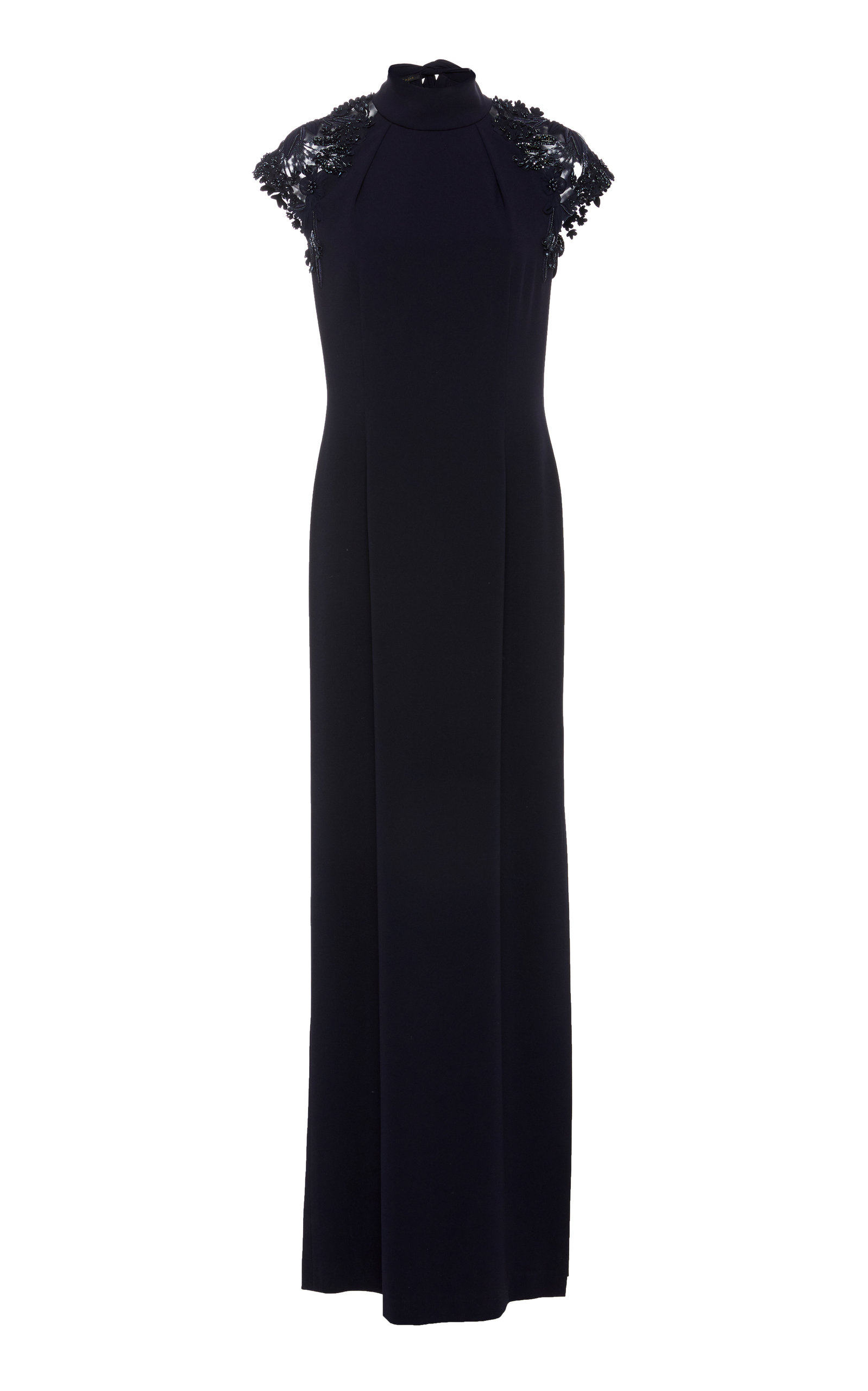 90604a5804f EscadaGeriah Lace Cap Sleeve Dress. CLOSE. Loading