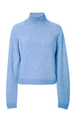The Elder Statesman Sweaters SPECIALORDER-HIGHLAND CROPPED CASHMERE TURTLENECK SWEATER-MS