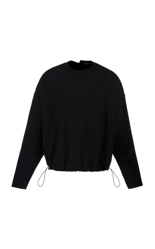 BOURIE | Bourie Safety Pin Cotton-Blend Sweater | Goxip