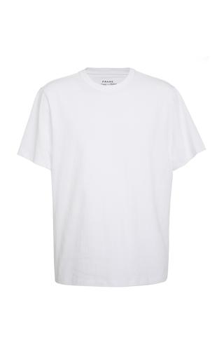 FRAME   FRAME Cotton-Jersey T-Shirt   Goxip