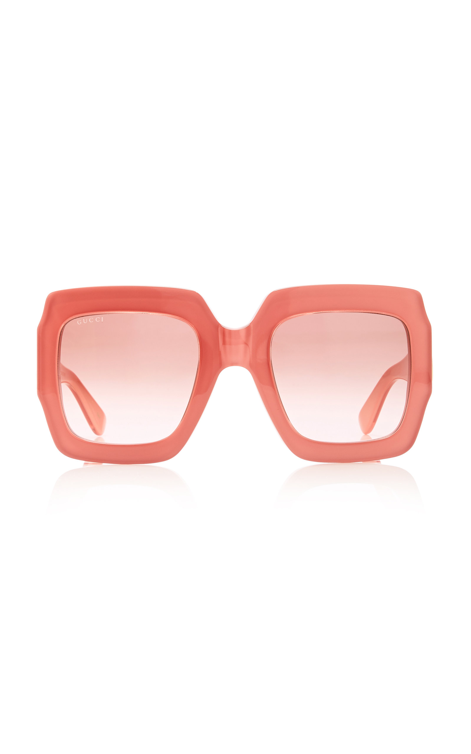 89eef7be2 Pop Web Acetate Square-Frame Sunglasses by Gucci | Moda Operandi