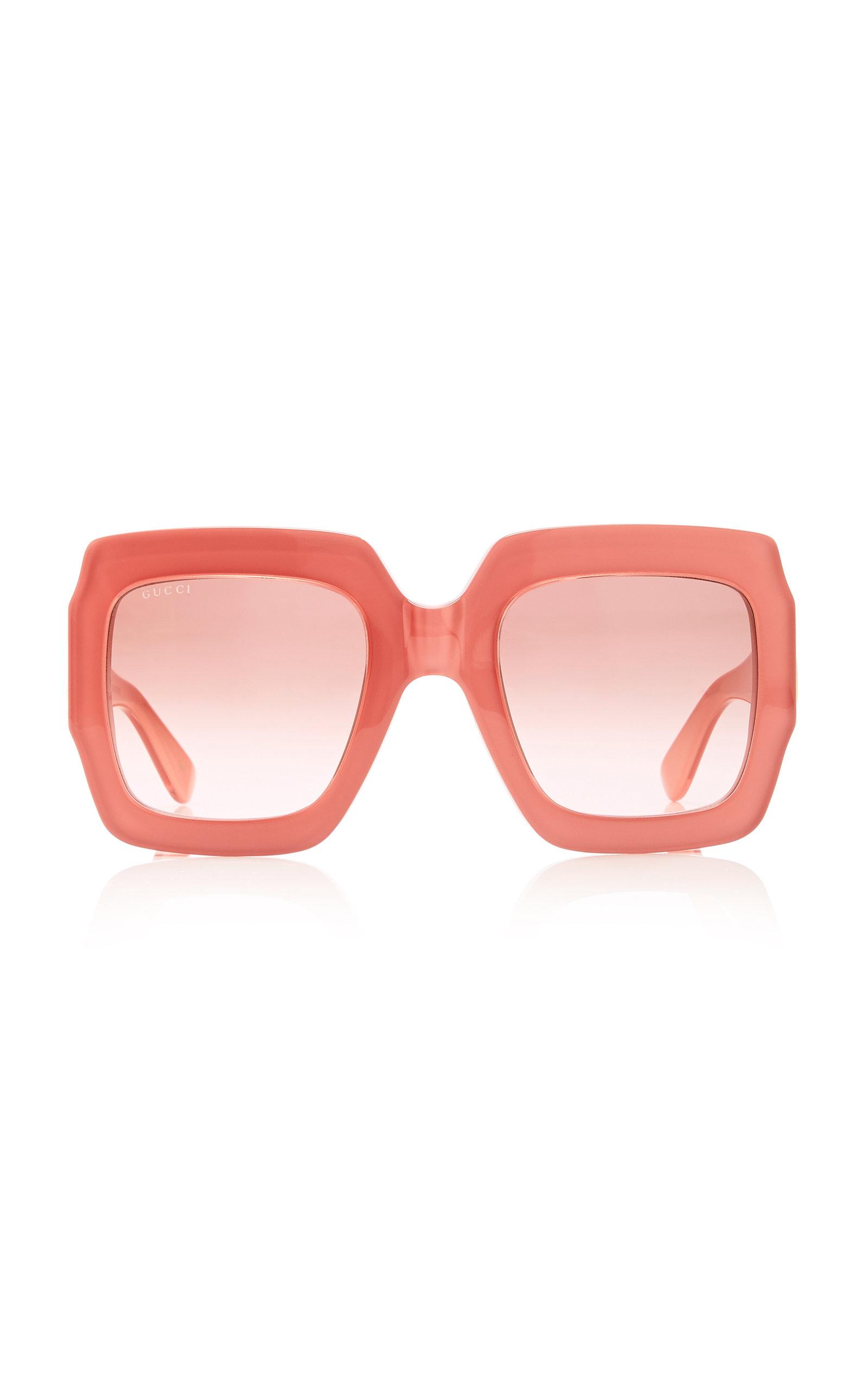 ebd7b33a8521 Gucci SunglassesPop Web Acetate Square-Frame Sunglasses. CLOSE. Loading