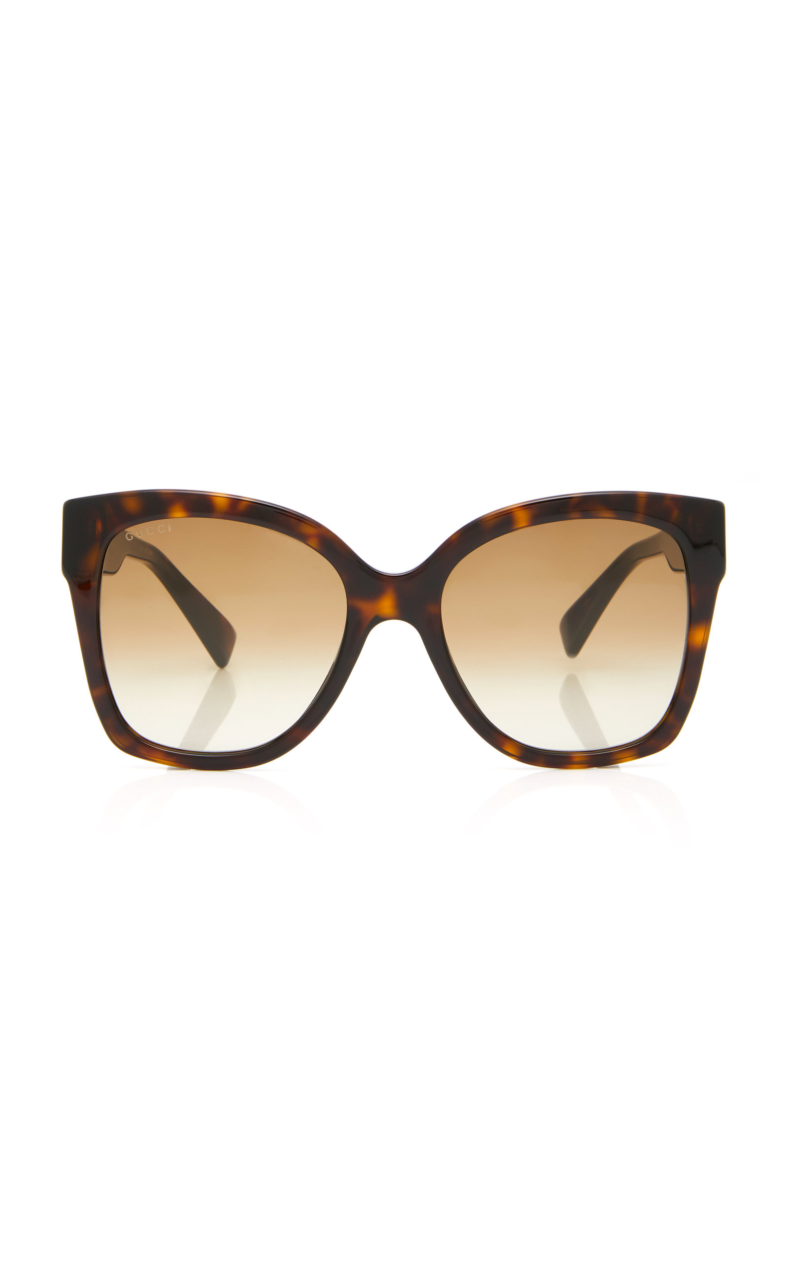 680e7257b Web Plaque Oversized Acetate Square-Frame Sunglasses | Moda Operandi