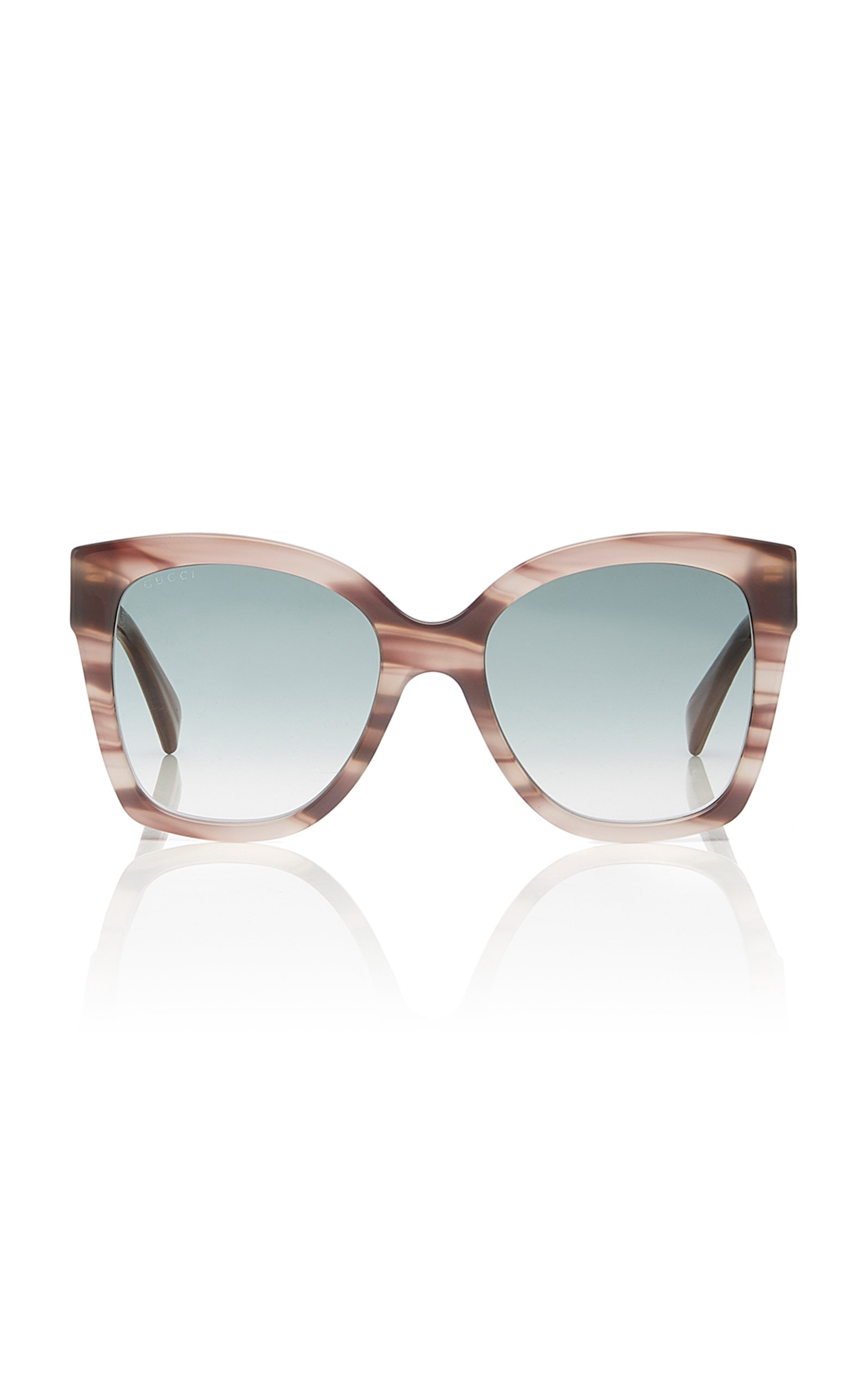 GUCCI | Gucci Sunglasses Marbled Acetate Square-Frame Sunglasses | Goxip