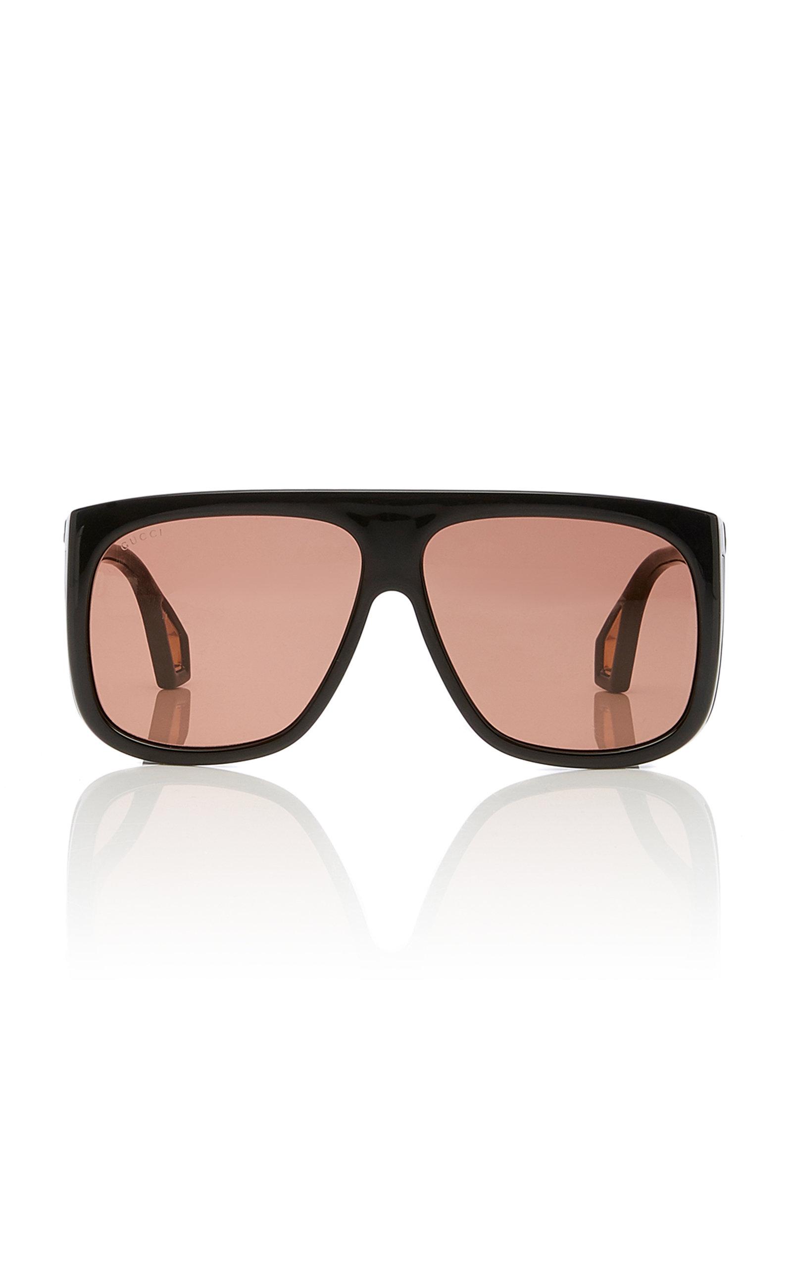 76fba86a384 Square-Frame Acetate Sunglasses by Gucci Sunglasses