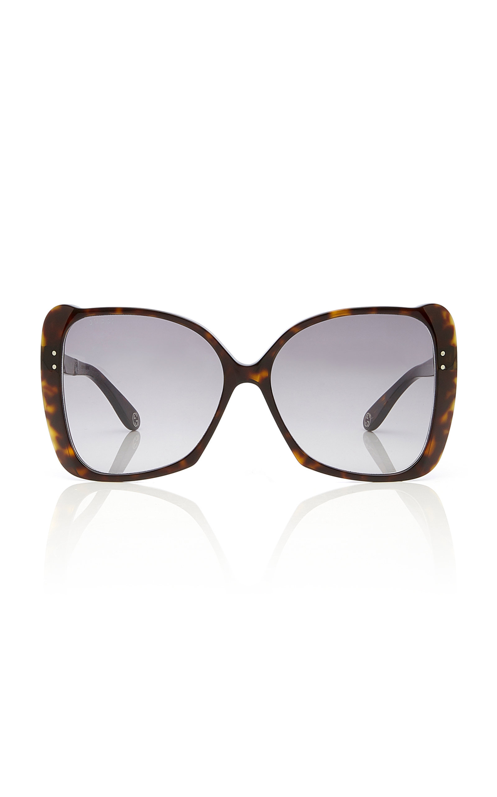 207c3892078 Gucci Sunglasses Butterfly-Frame Tortoiseshell Acetate Sunglasses. CLOSE.  Loading