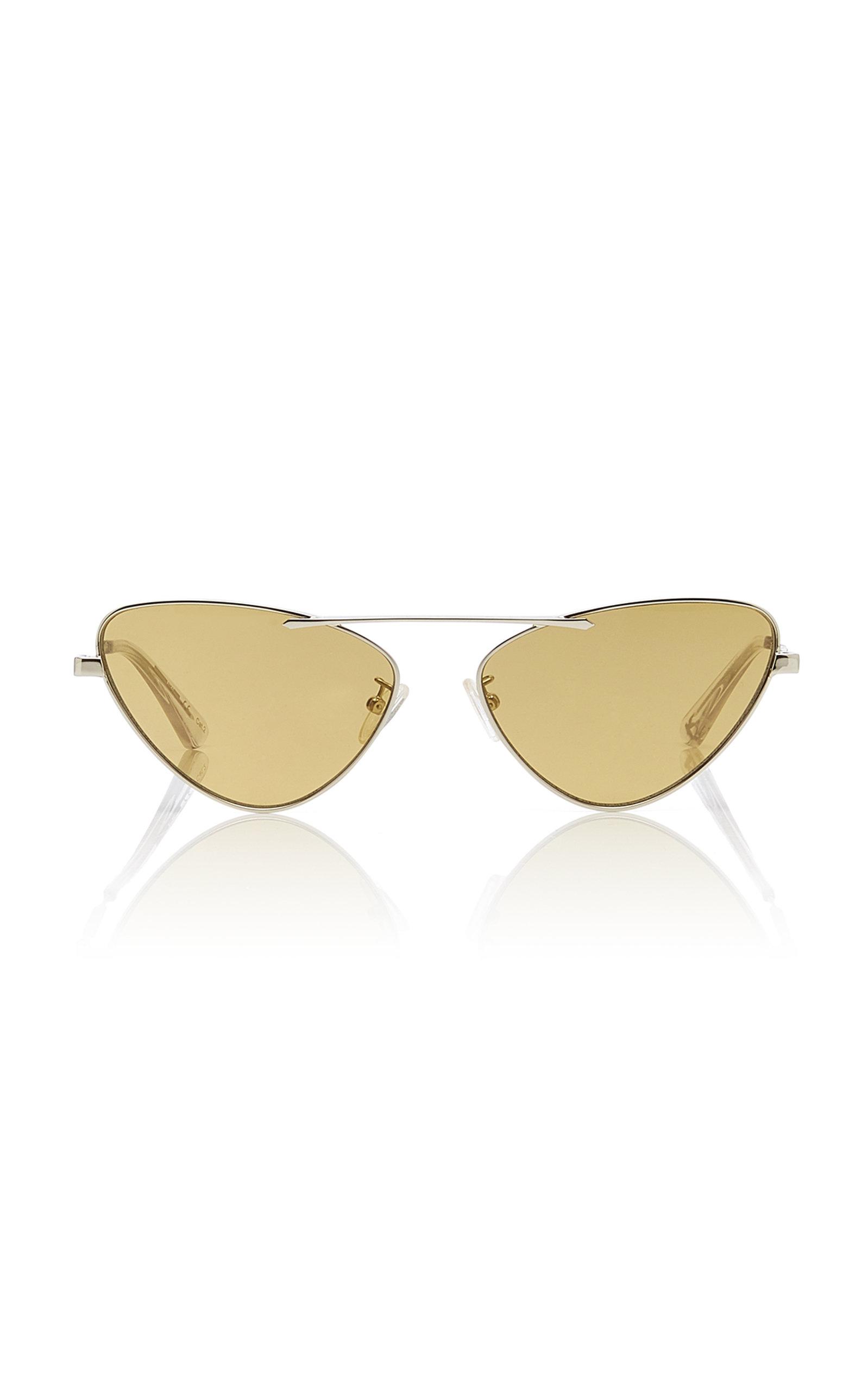 MCQ | MCQ Sunglasses Cat-Eye Metal Sunglasses | Goxip