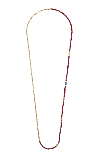 OBJET-A | Objet-a The Blue Hour Rich Ruby Necklace | Goxip
