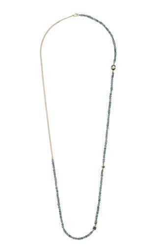 OBJET-A   Objet-a The Blue Hour Purple Sapphire Necklace   Goxip