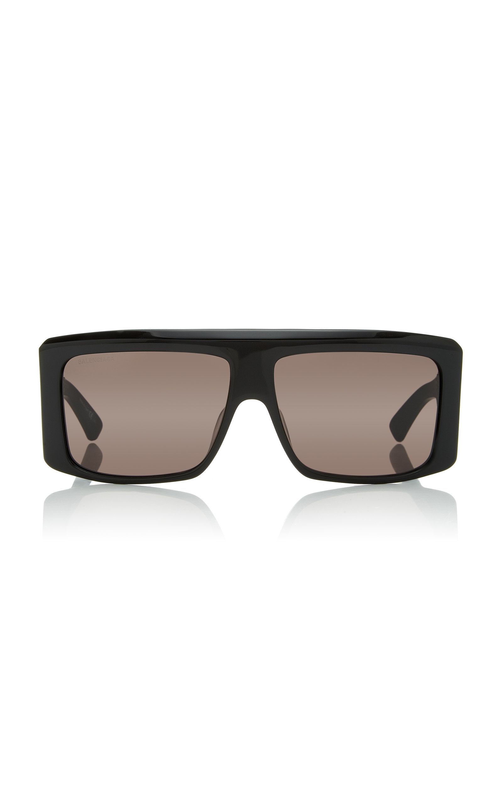 def3b06b79cd Balenciaga Square-Frame Acetate Sunglasses In Black | ModeSens