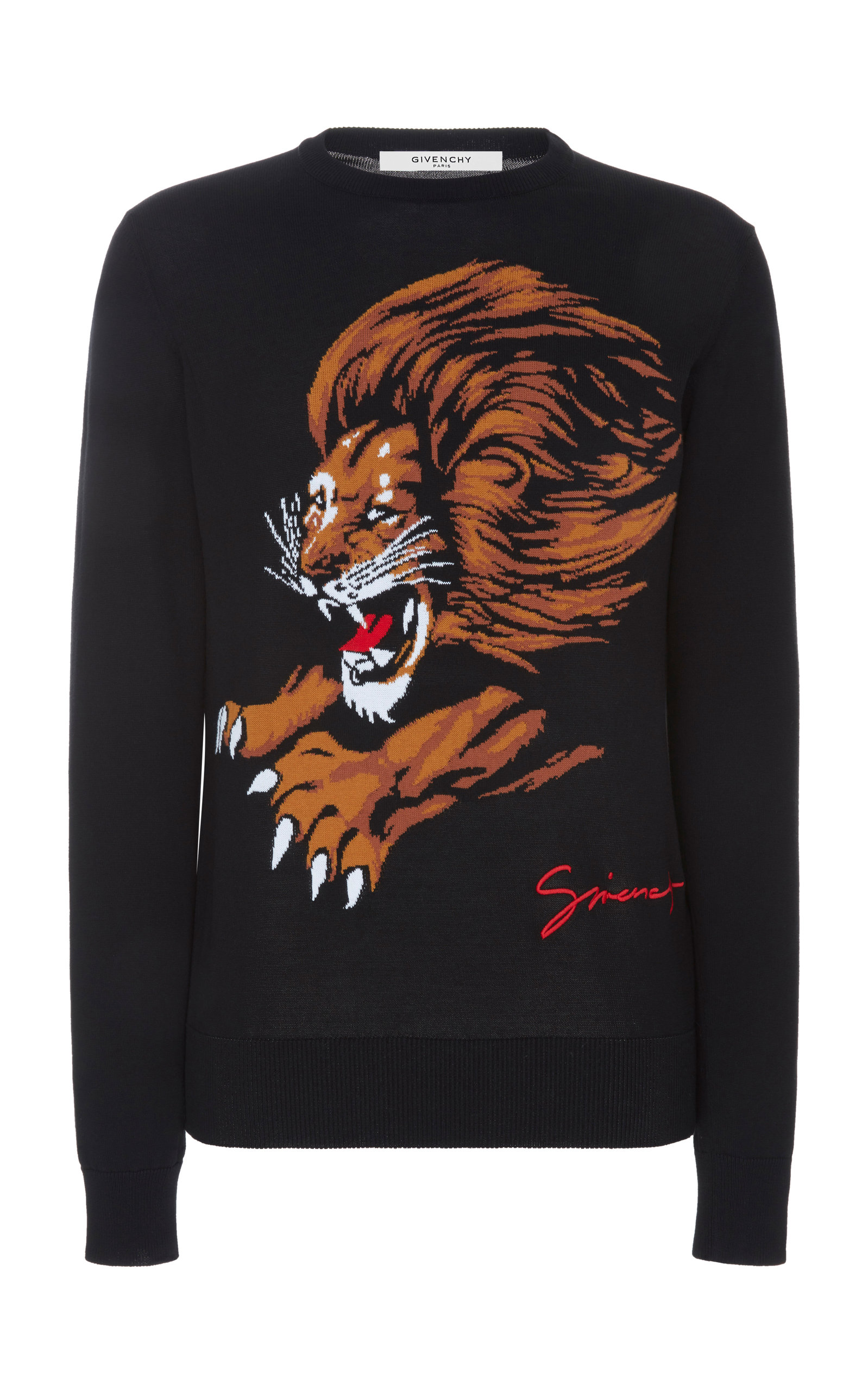 GIVENCHY | Givenchy Printed Cotton-Jersey Sweatshirt | Goxip
