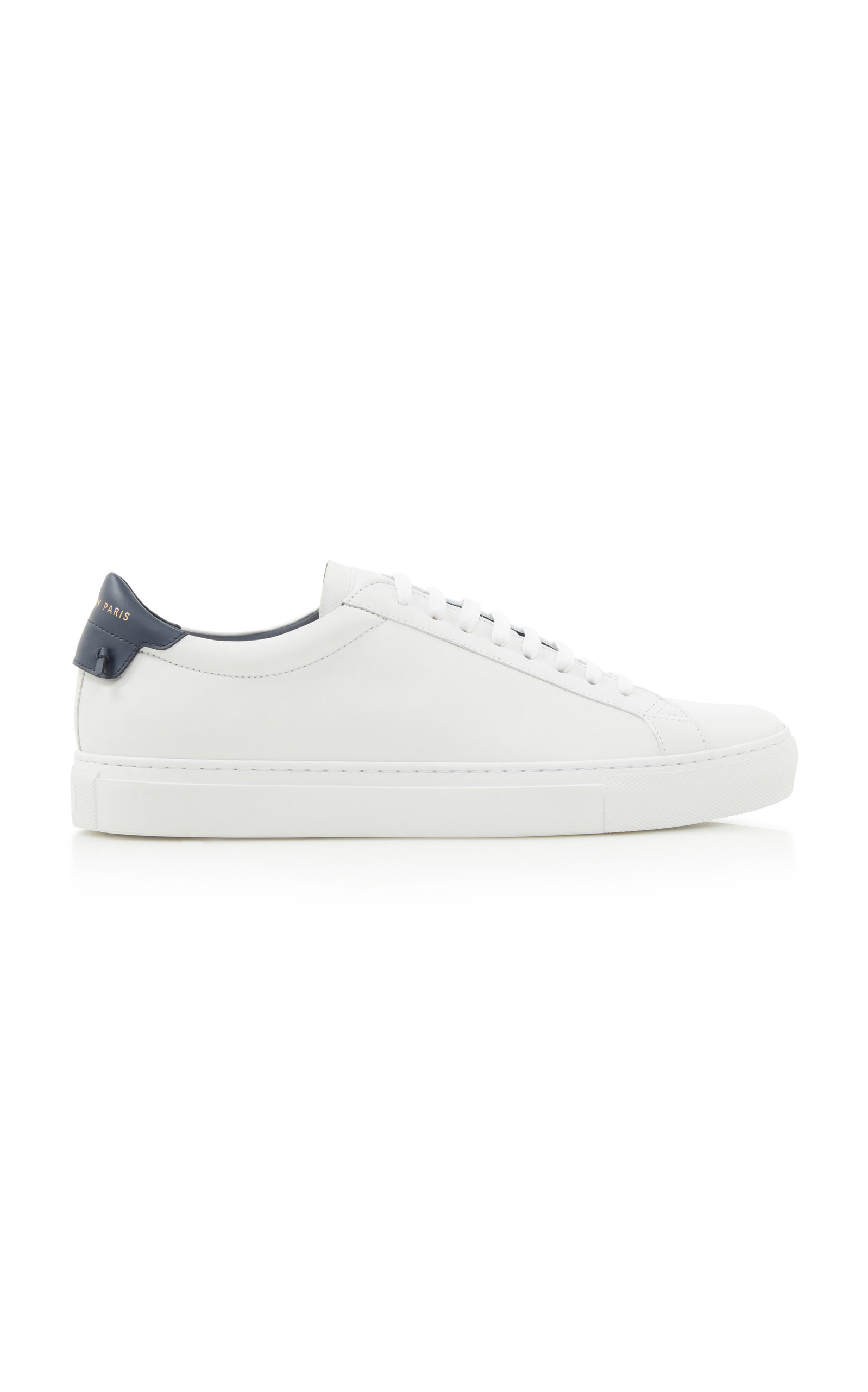 GIVENCHY | Givenchy Urban Street Two-Tone Leather Sneakers | Goxip