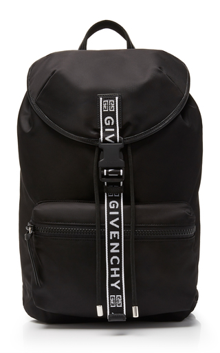 e892ab4d9c GivenchyIntarsia-Trimmed Leather Backpack