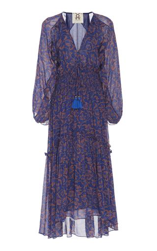 a84195d5fd88 FigueAlessia Printed Chiffon Midi Dress