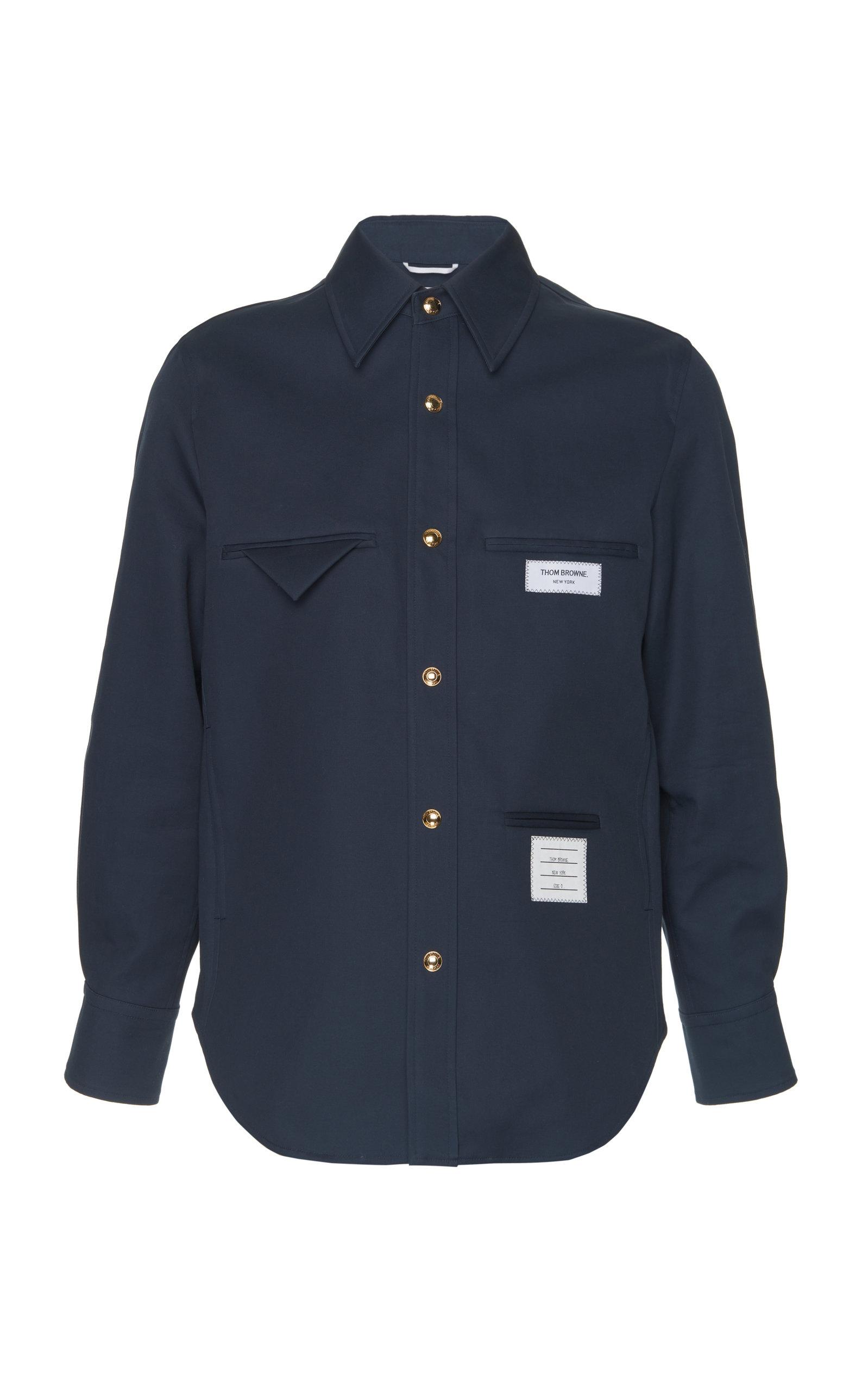 e9b4a592 Inside Out Cotton Shirt Jacket by Thom Browne | Moda Operandi