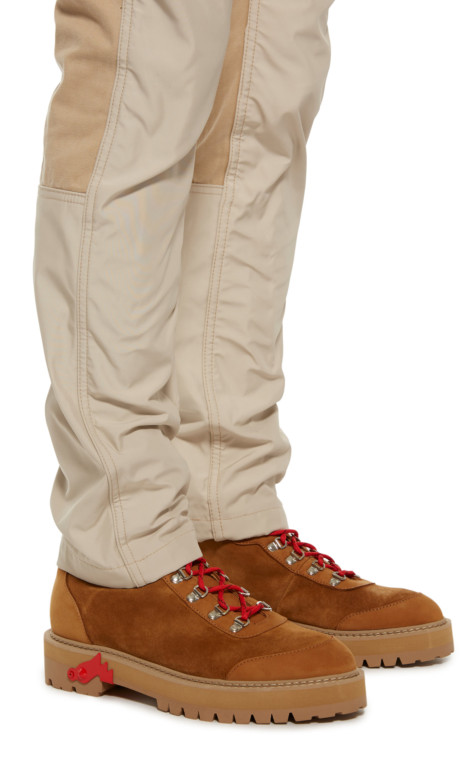 ebf8df00a2c2a Suede Hiking Boots by Off-White c/o Virgil Abloh   Moda Operandi