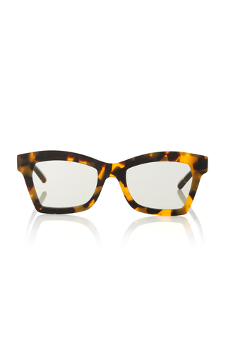 fc329d32a20 Karen WalkerBlessed Square-Frame Tortoiseshell Acetate Sunglasses