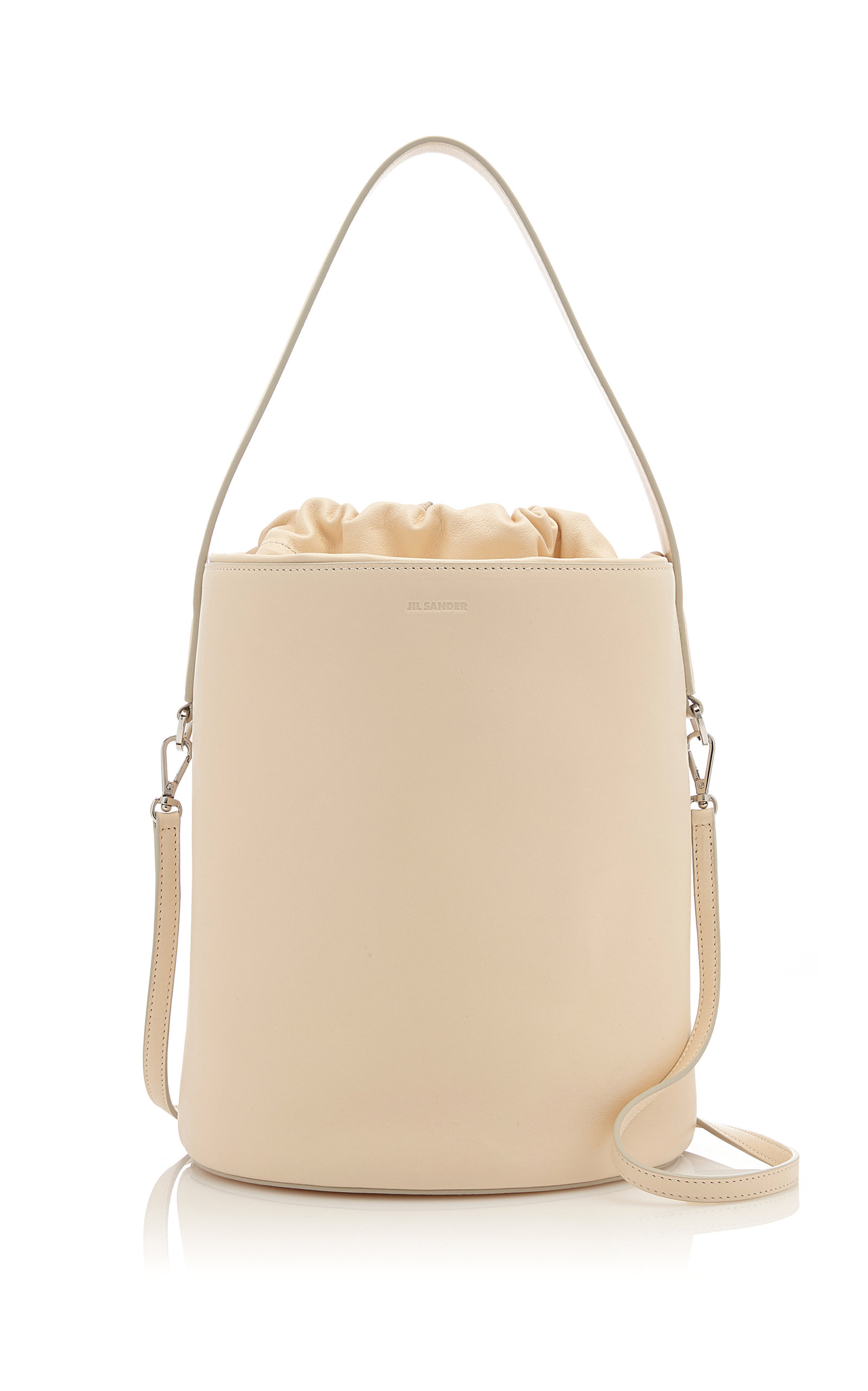 Drawket Medium Soft Leather Bag by Jil Sander  f426b021d287a