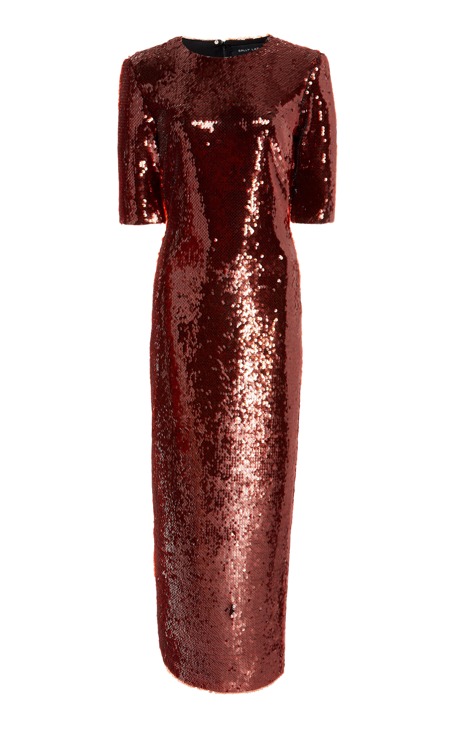 Sally Lapointe SEQUINED MAXI DRESS SIZE: 10