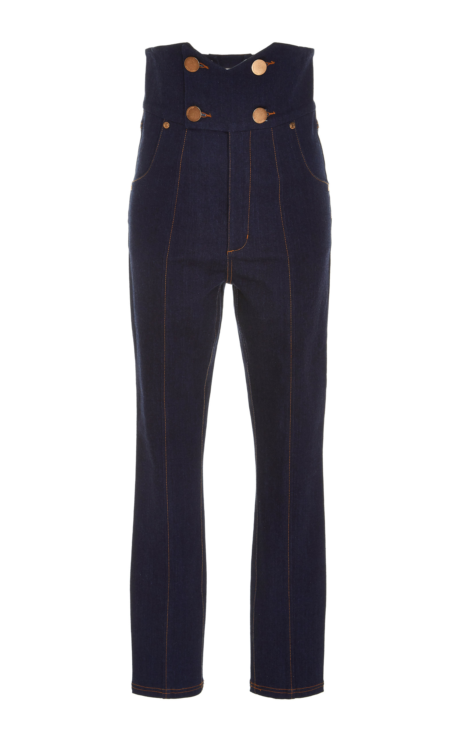 452747c114 Jadore Contrast Stitch High-Waisted Jeans by Alice McCall