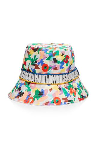 13762d16fce2e Missoni MareIntarsia-Trimmed Printed Canvas Bucket Hat