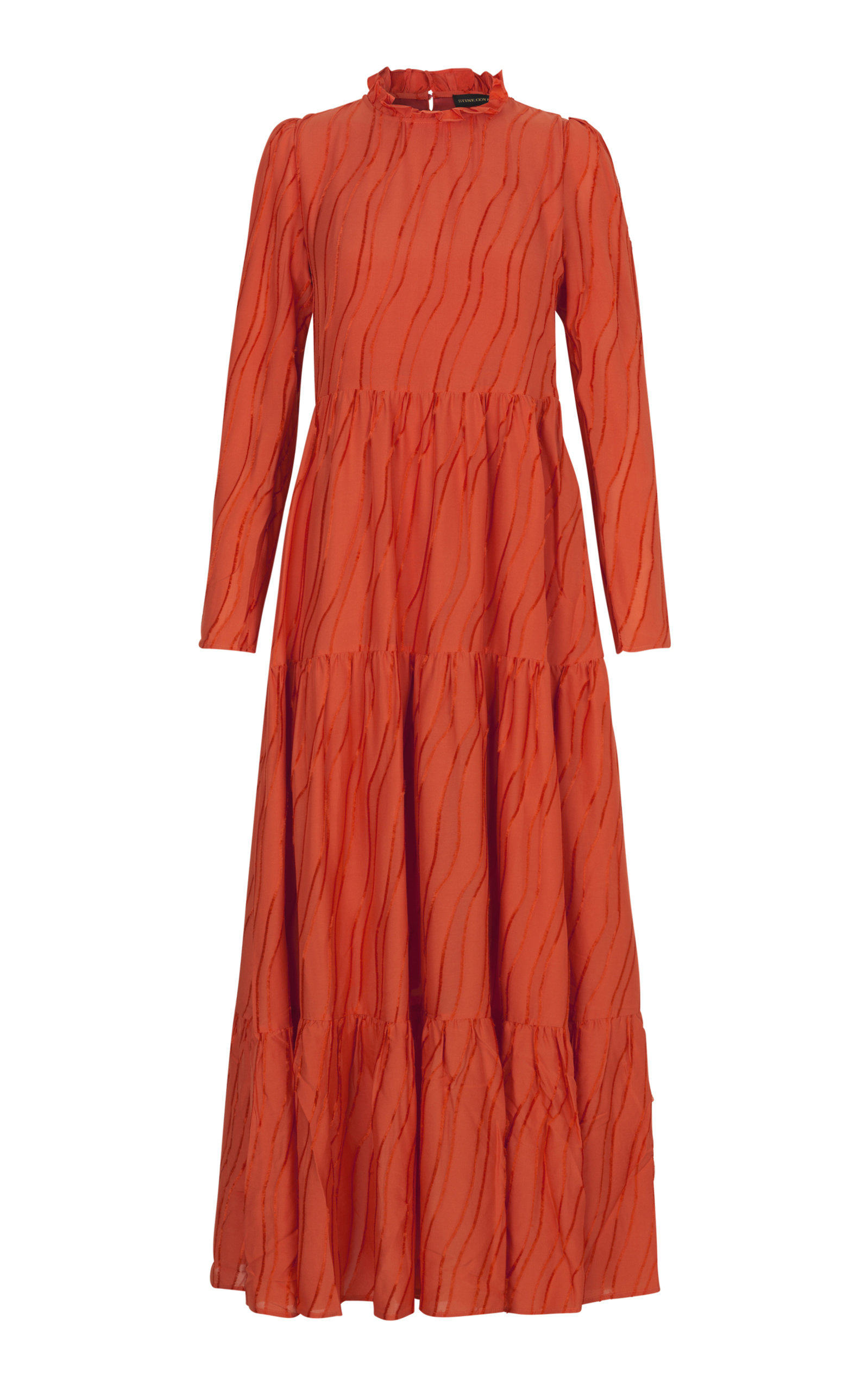 767eef9a3b07 Judy Textured Maxi Dress by Stine Goya | Moda Operandi