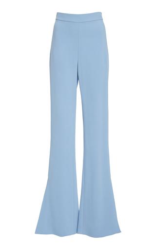 Cushnie High-Rise Flared Stretch-Crepe Pants