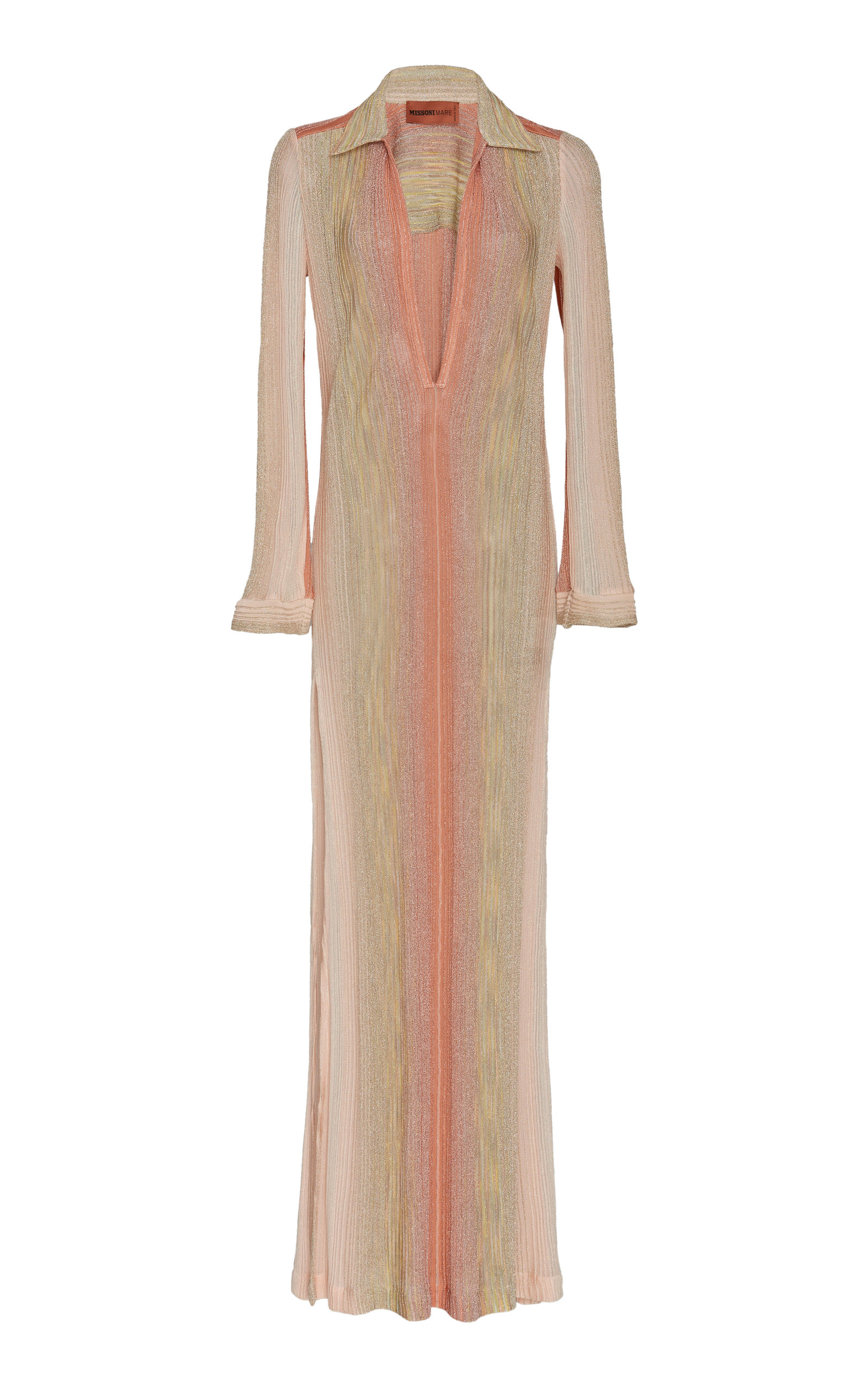 09377786960 Metallic Stretch-Knit Maxi Dress by Missoni Mare | Moda Operandi