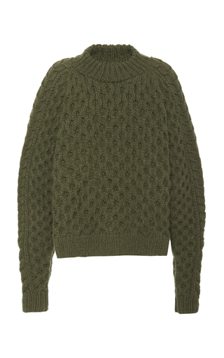 Partow ORION CABLE-KNIT CASHMERE SWEATER