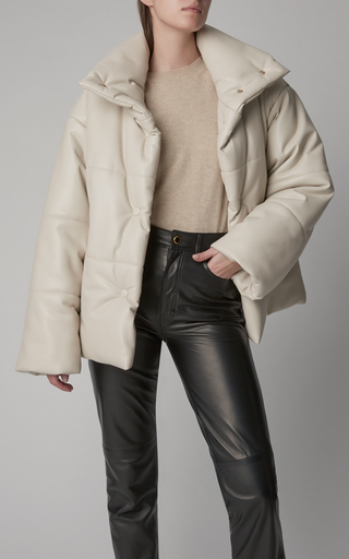 db4be0f1d Malen-D Metallic Quilted Down Coat by Bogner x White Cube | Moda ...