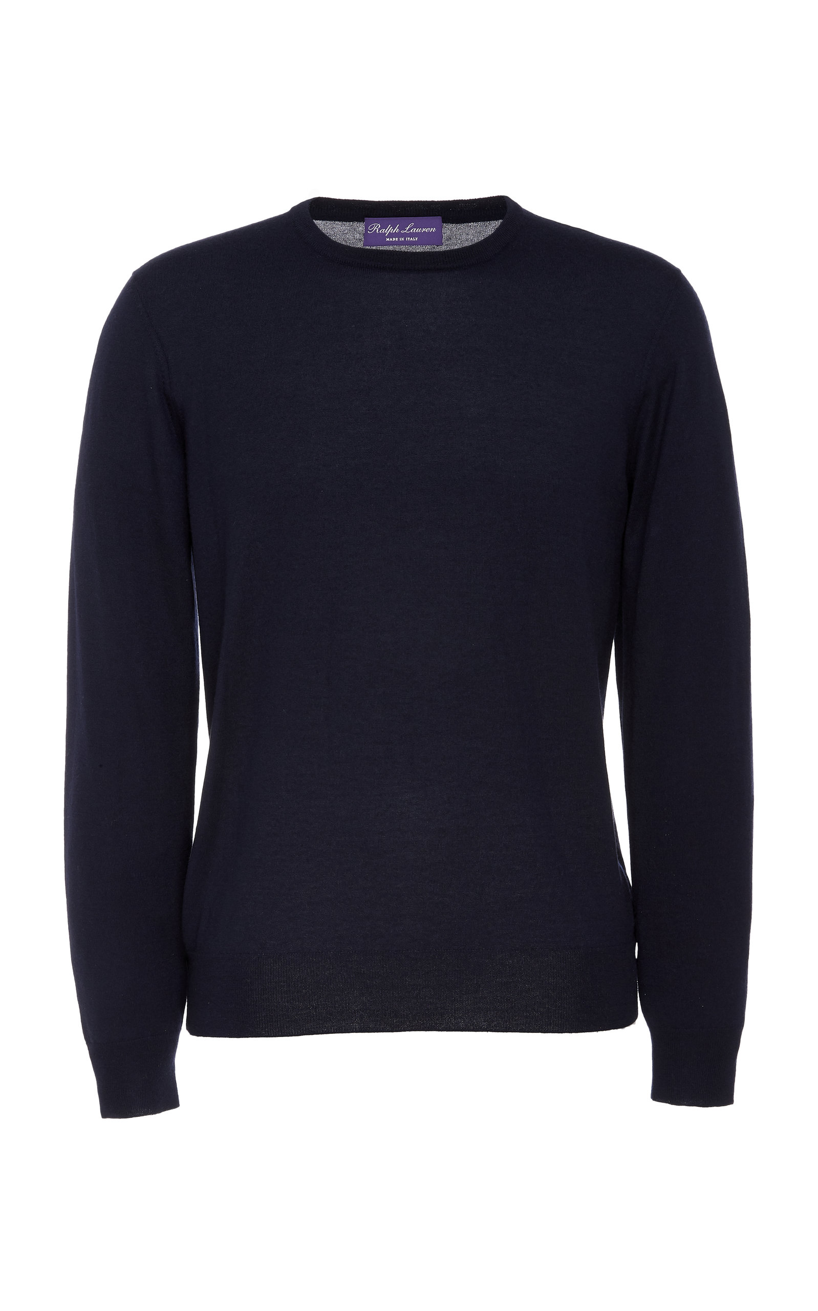 RALPH LAUREN | Ralph Lauren Cashmere And Silk-Blend Crewneck Sweater | Goxip