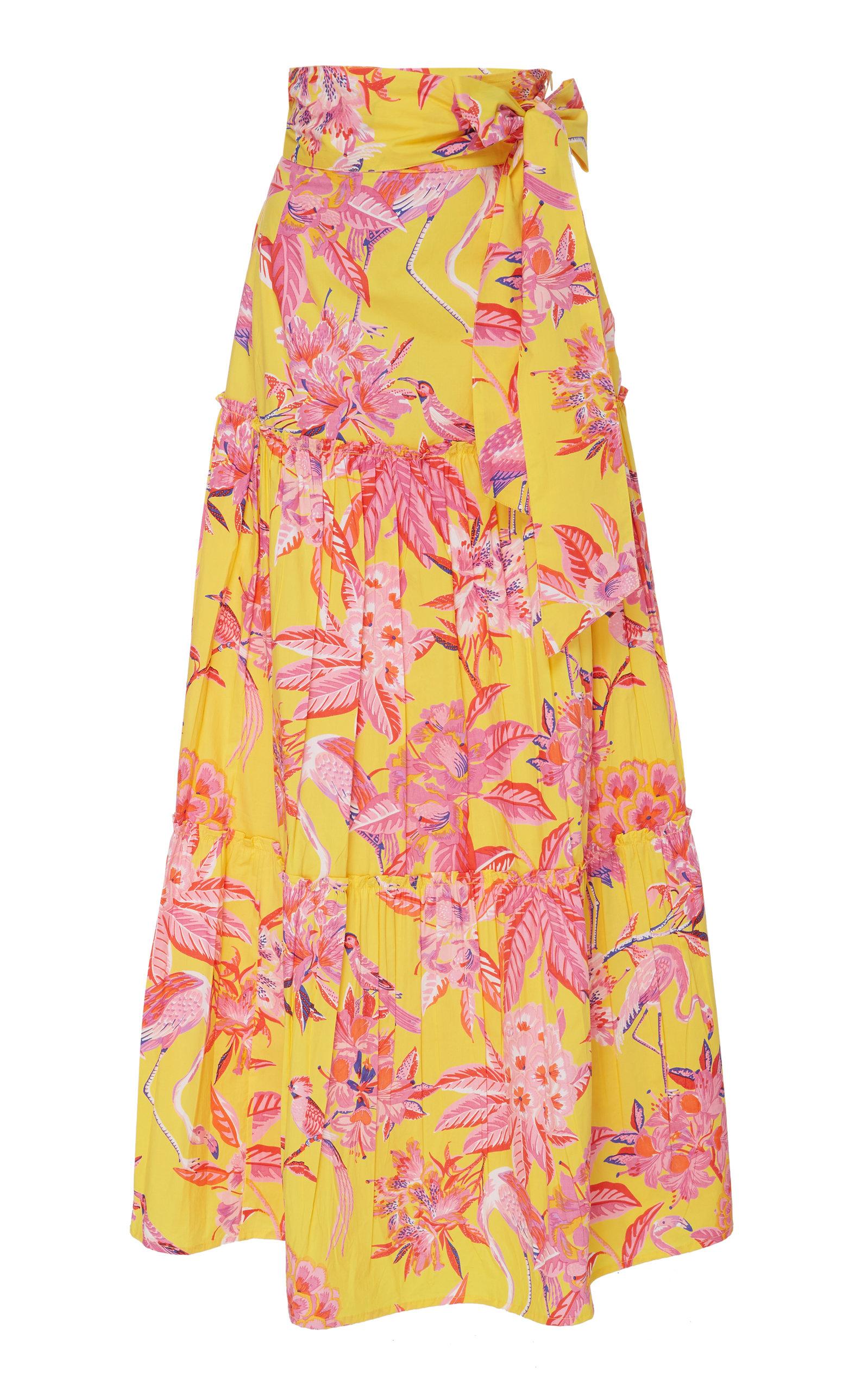 BANJANAN | Banjanan Discovery Cotton Poplin Skirt | Goxip
