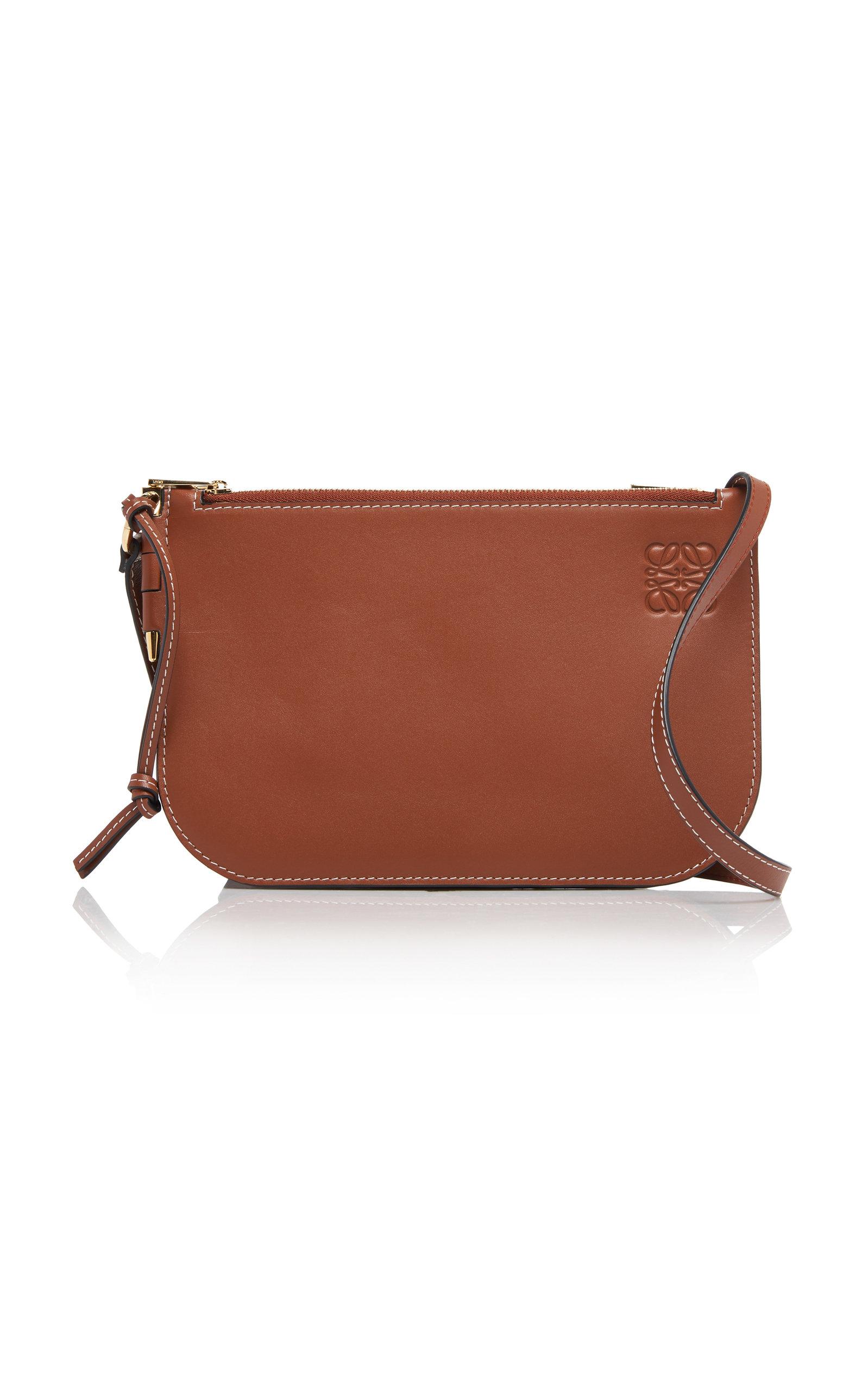 LOEWE | Loewe Gate Leather Shoulder Bag | Goxip
