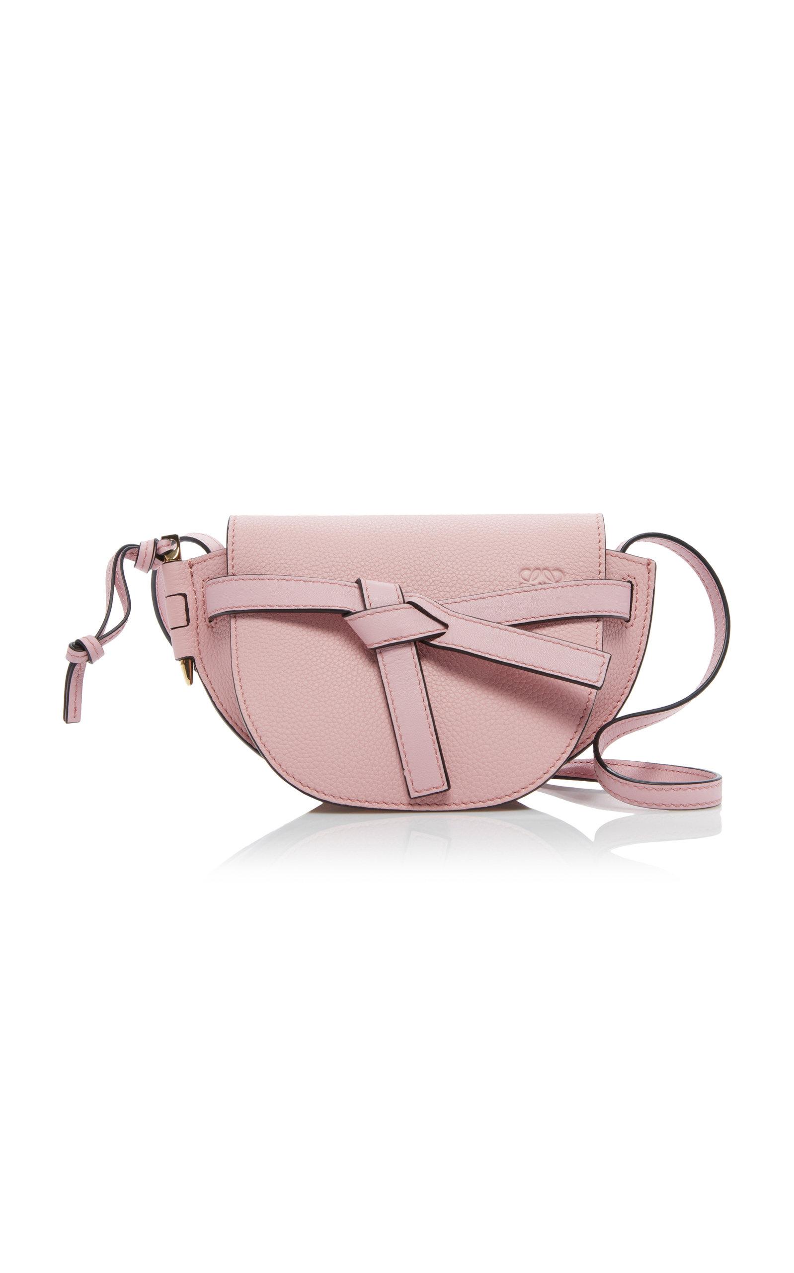£814.75 + 包邮【Moda Operandi UK】Loewe Mini Gate 马鞍包粉色