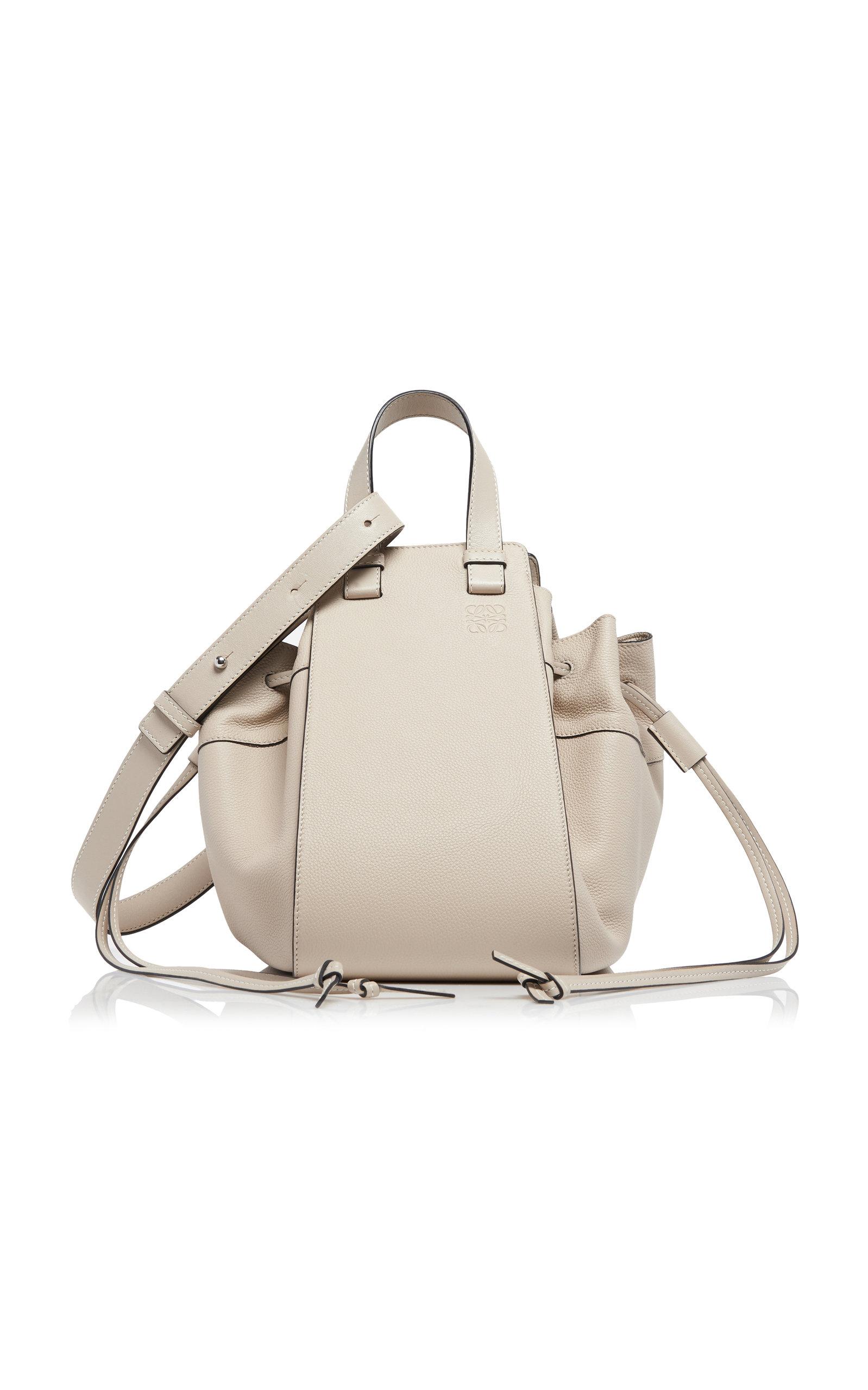 LOEWE   Loewe Hammock DW Medium Leather Shoulder Bag   Goxip