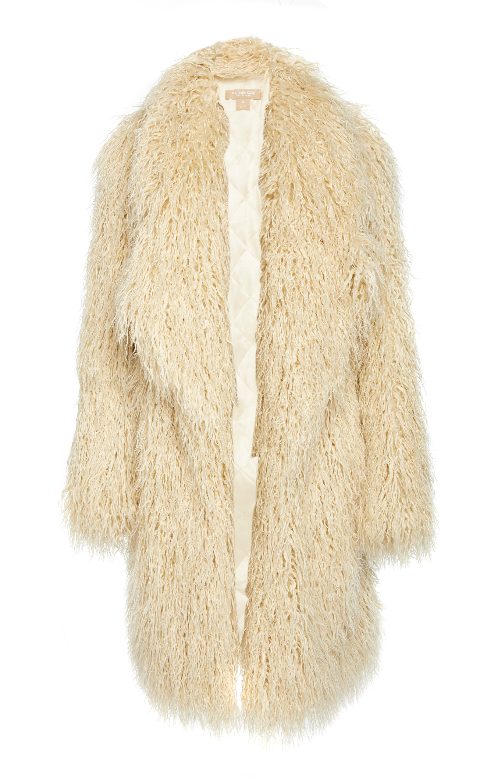 MICHAEL KORS | Michael Kors Collection Faux Fur Coat | Goxip
