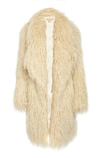 MICHAEL KORS   Michael Kors Collection Faux Fur Coat   Goxip