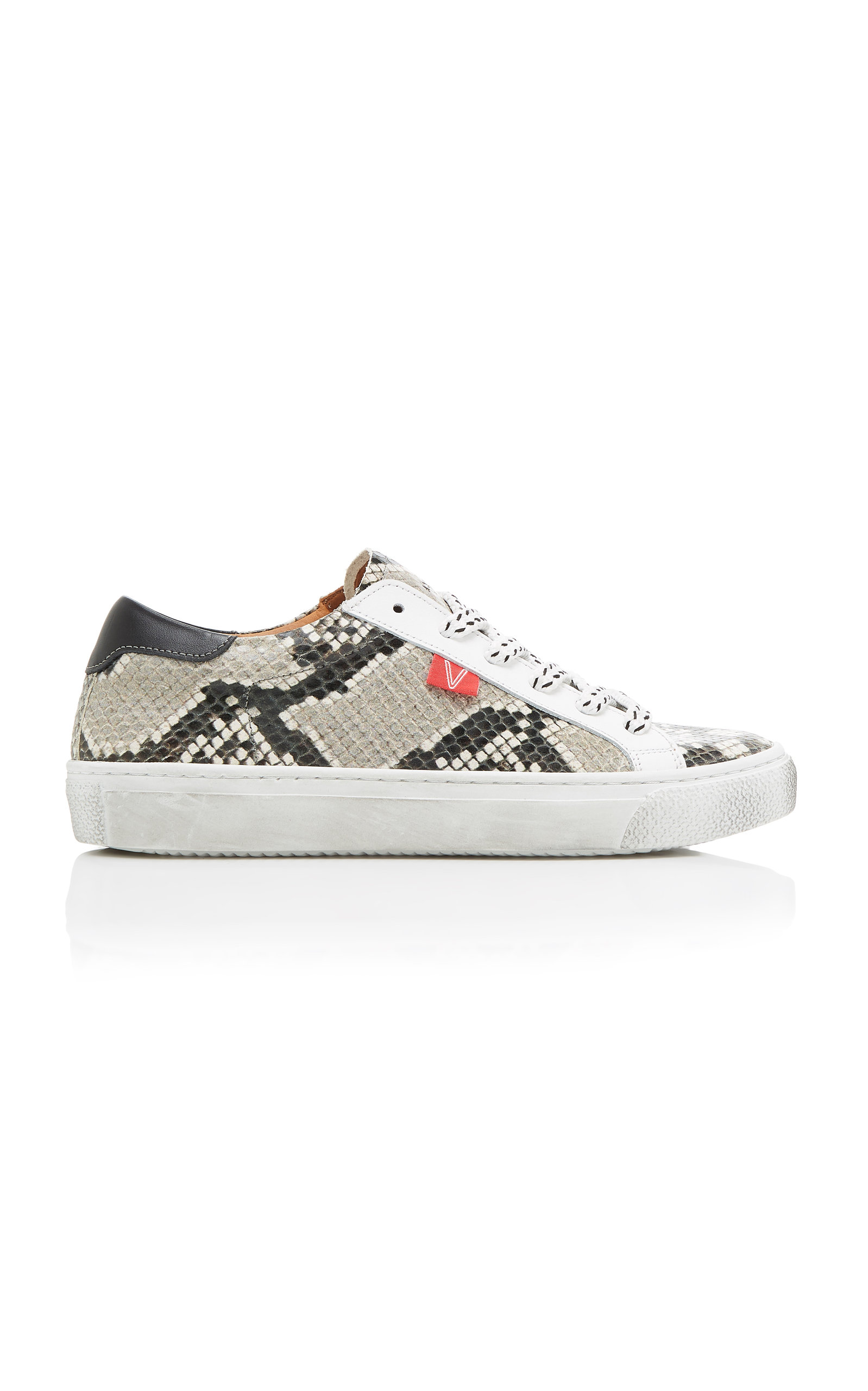 785449b9b000 Sami Lace-Up Leather Sneakers by Veronica Beard
