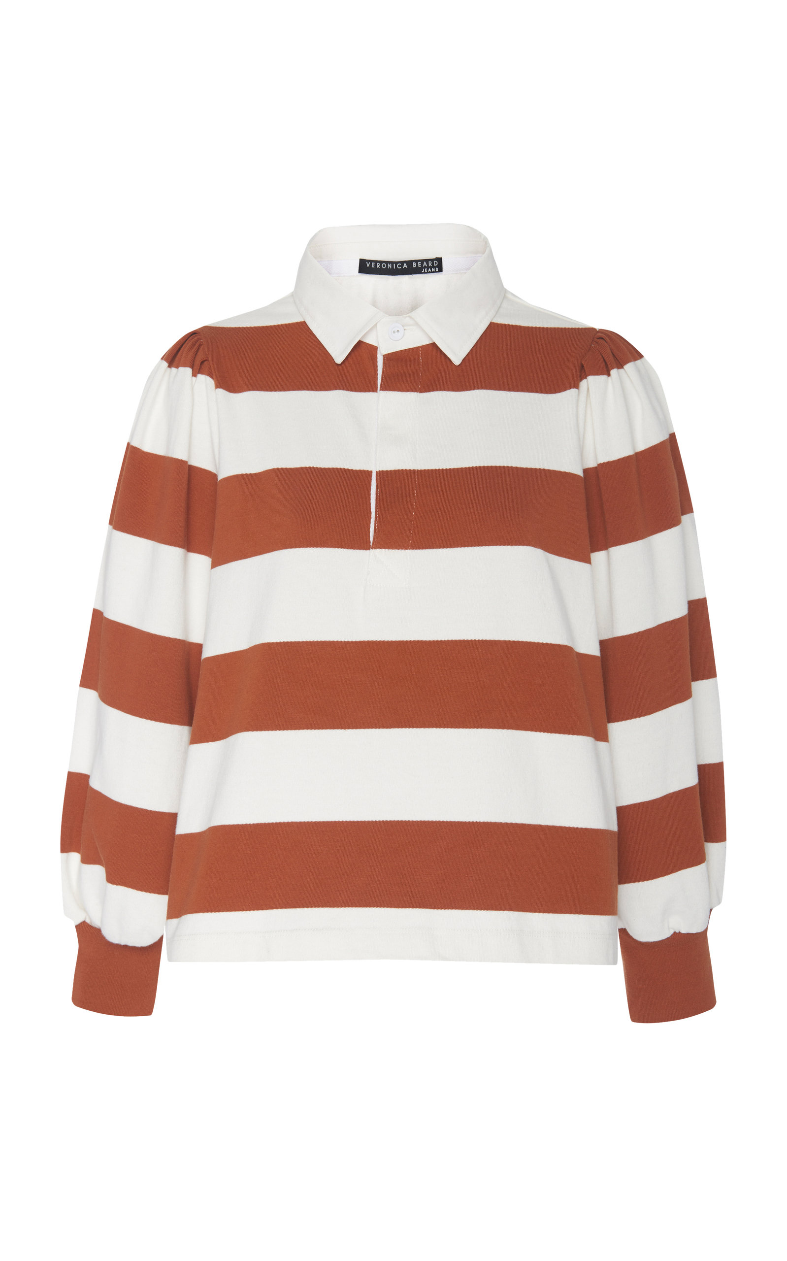 Presto Cotton Rugby Tee in Red