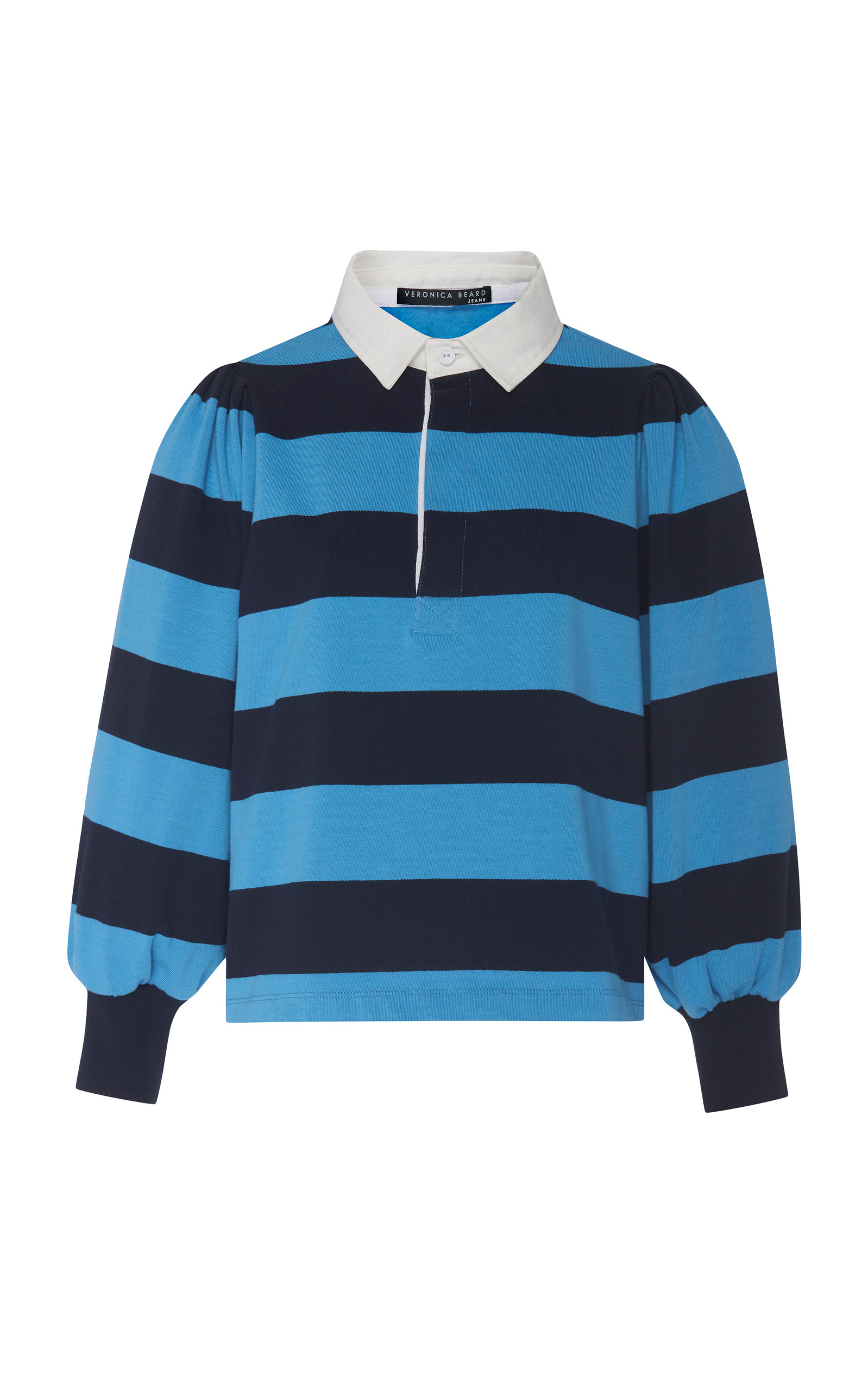 Presto Cotton Rugby Tee in Blue