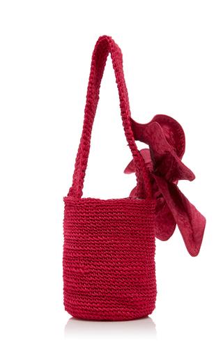 JOHANNA ORTIZ | Johanna Ortiz Distrito Salvaje Medium Crochet Bucket Bag | Goxip