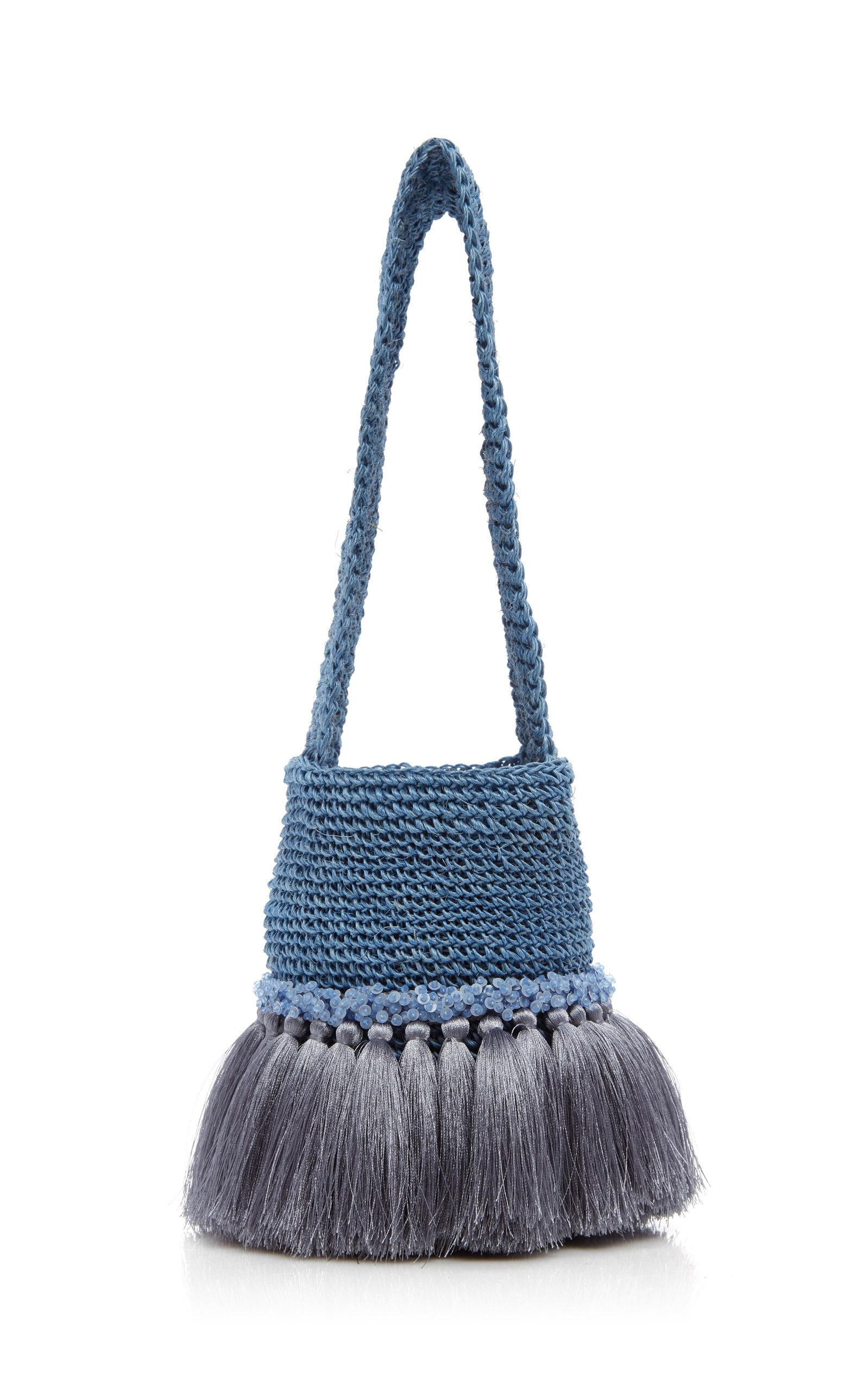Little Paws Small Crochet Bucket Bag By Johanna Ortiz Moda Operandi